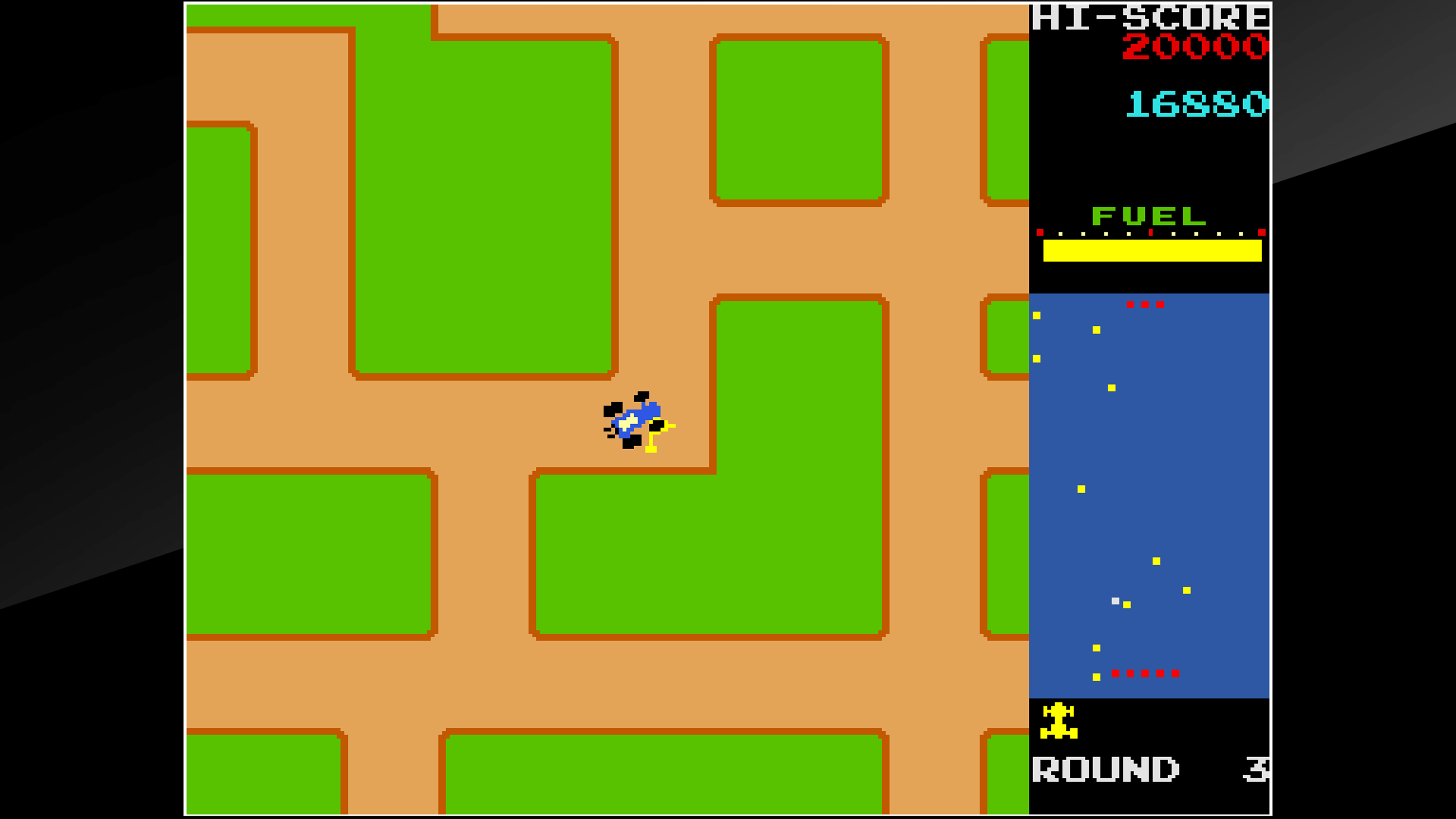 Скриншот №4 к Arcade Archives RALLY X
