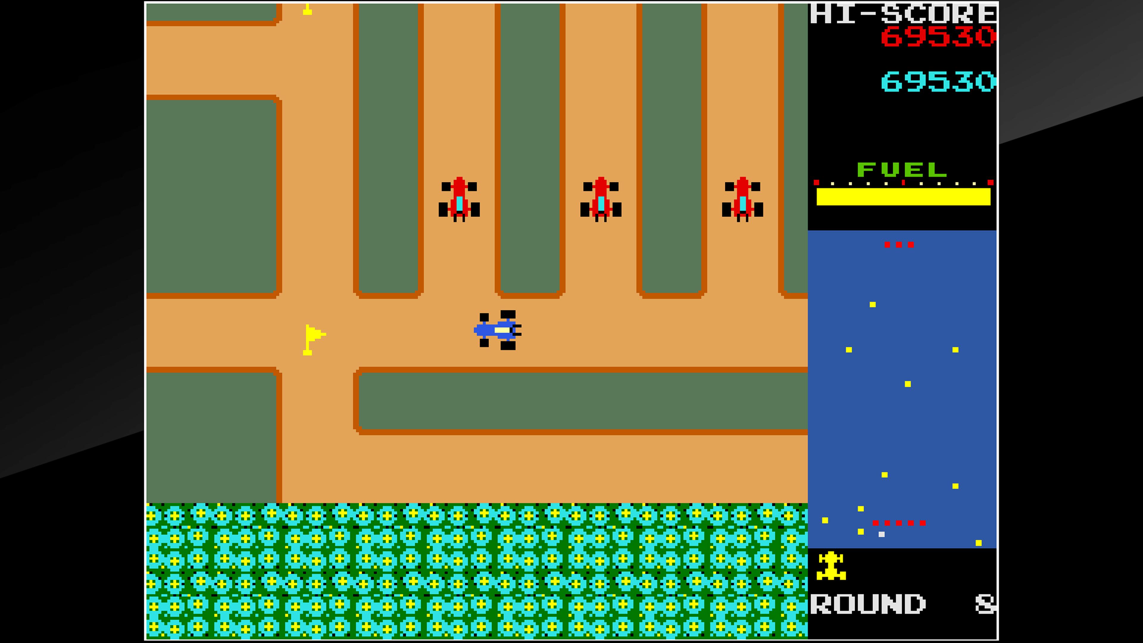 Скриншот №8 к Arcade Archives RALLY X