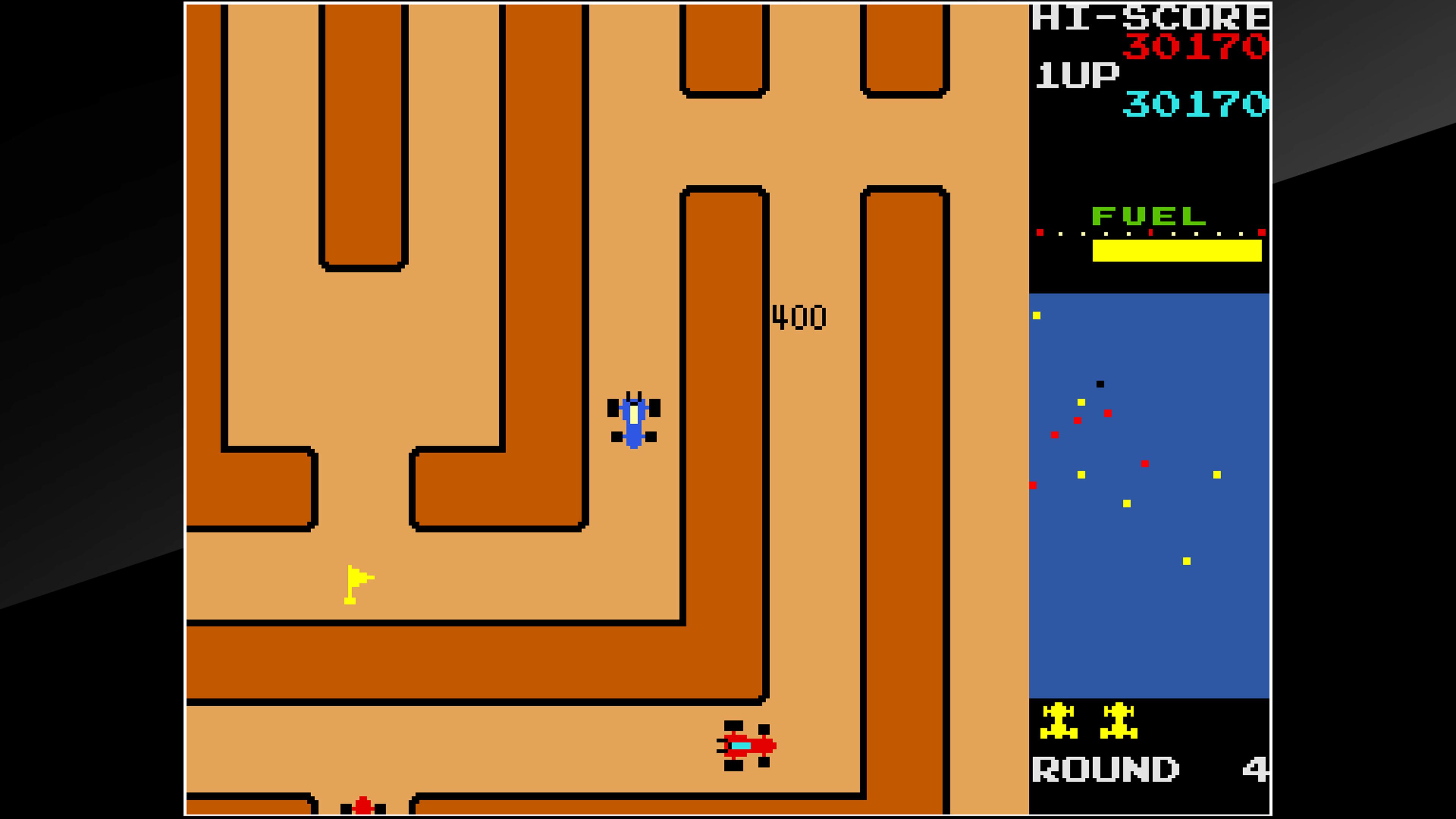 Скриншот №5 к Arcade Archives RALLY X