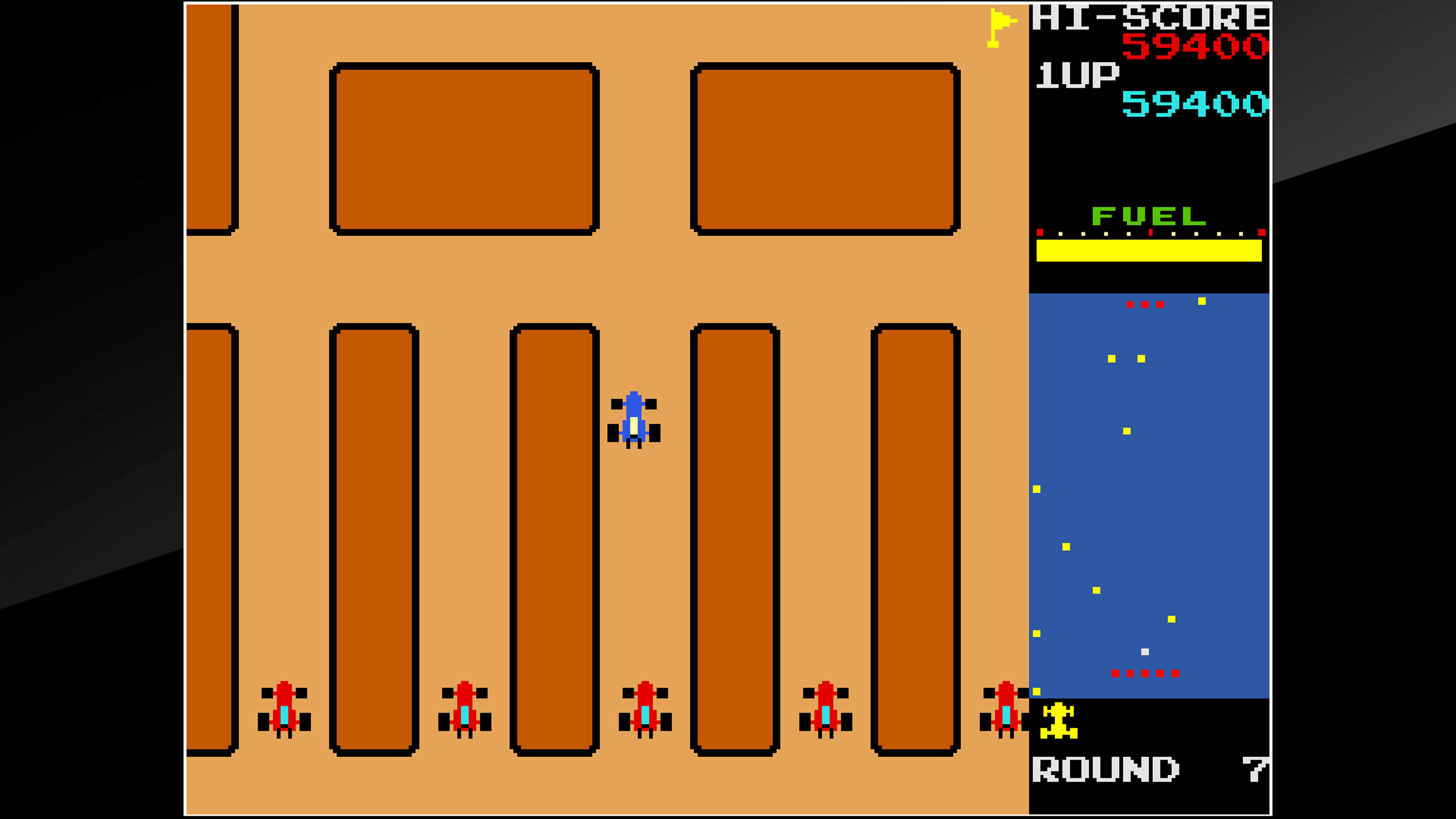 Скриншот №7 к Arcade Archives RALLY X