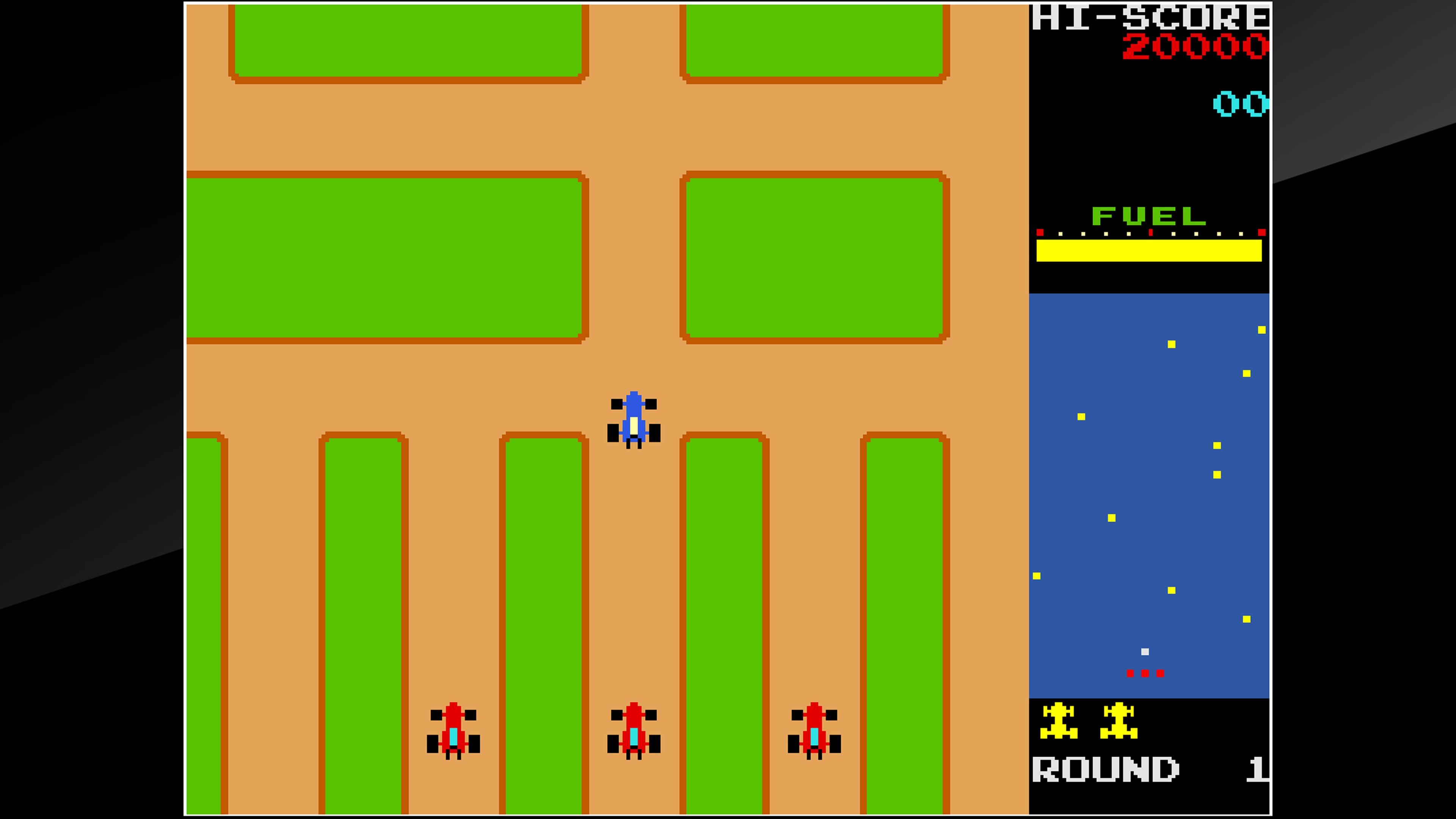 Скриншот №1 к Arcade Archives RALLY X
