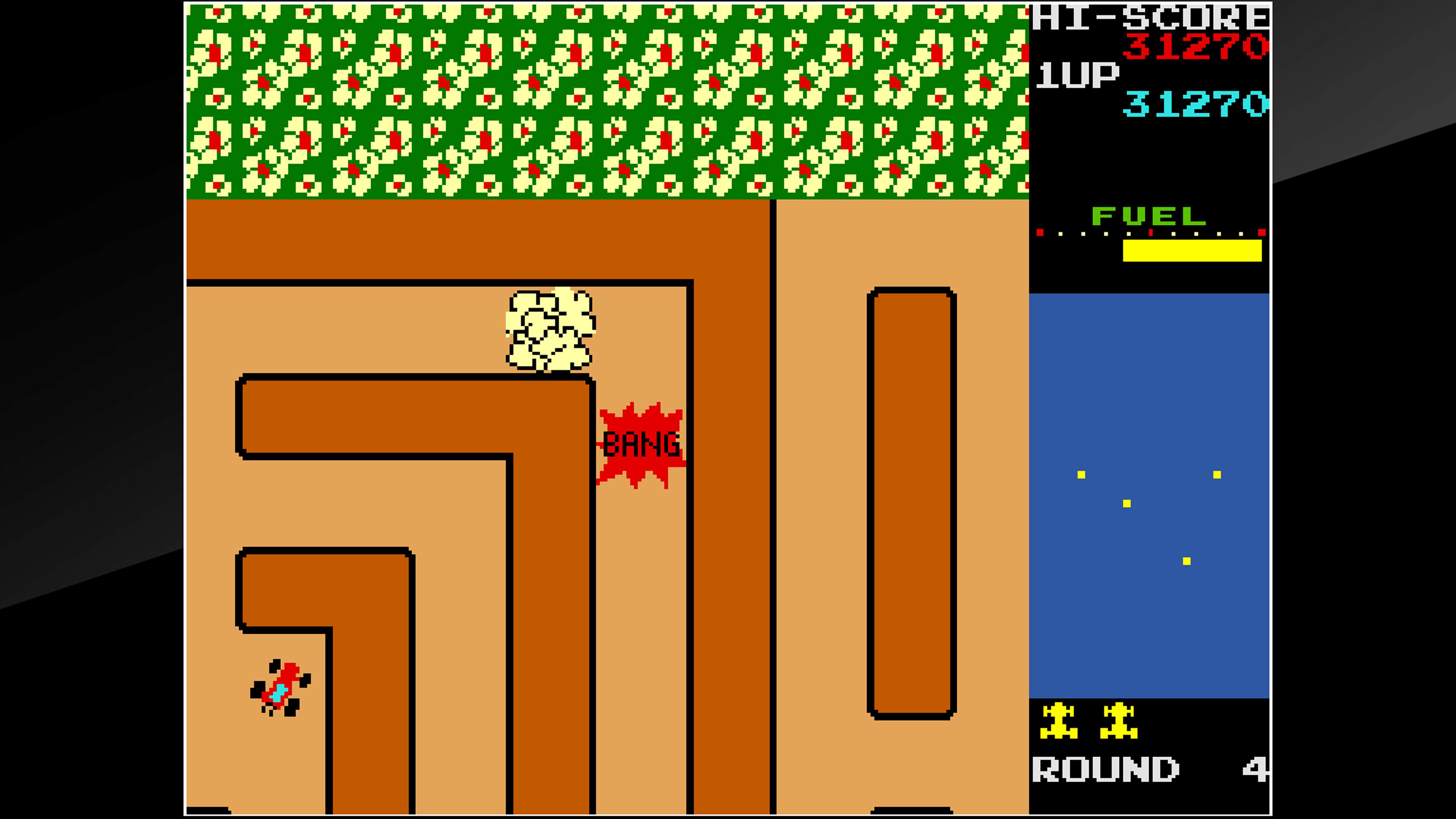 Скриншот №6 к Arcade Archives RALLY X