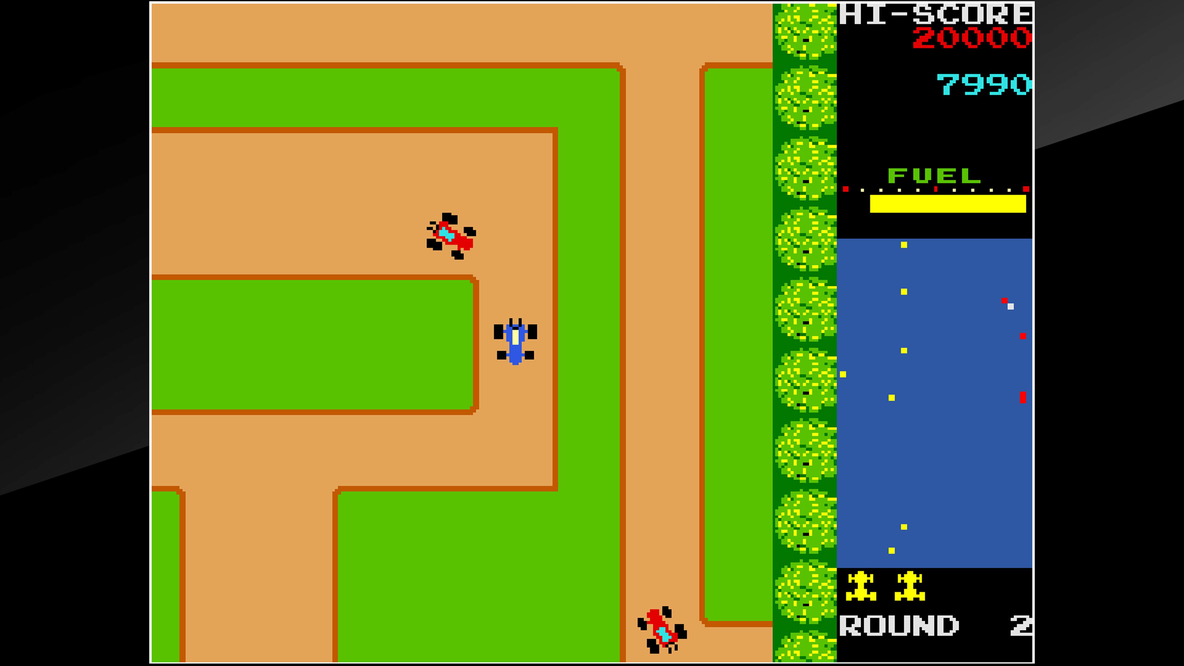 Скриншот №3 к Arcade Archives RALLY X