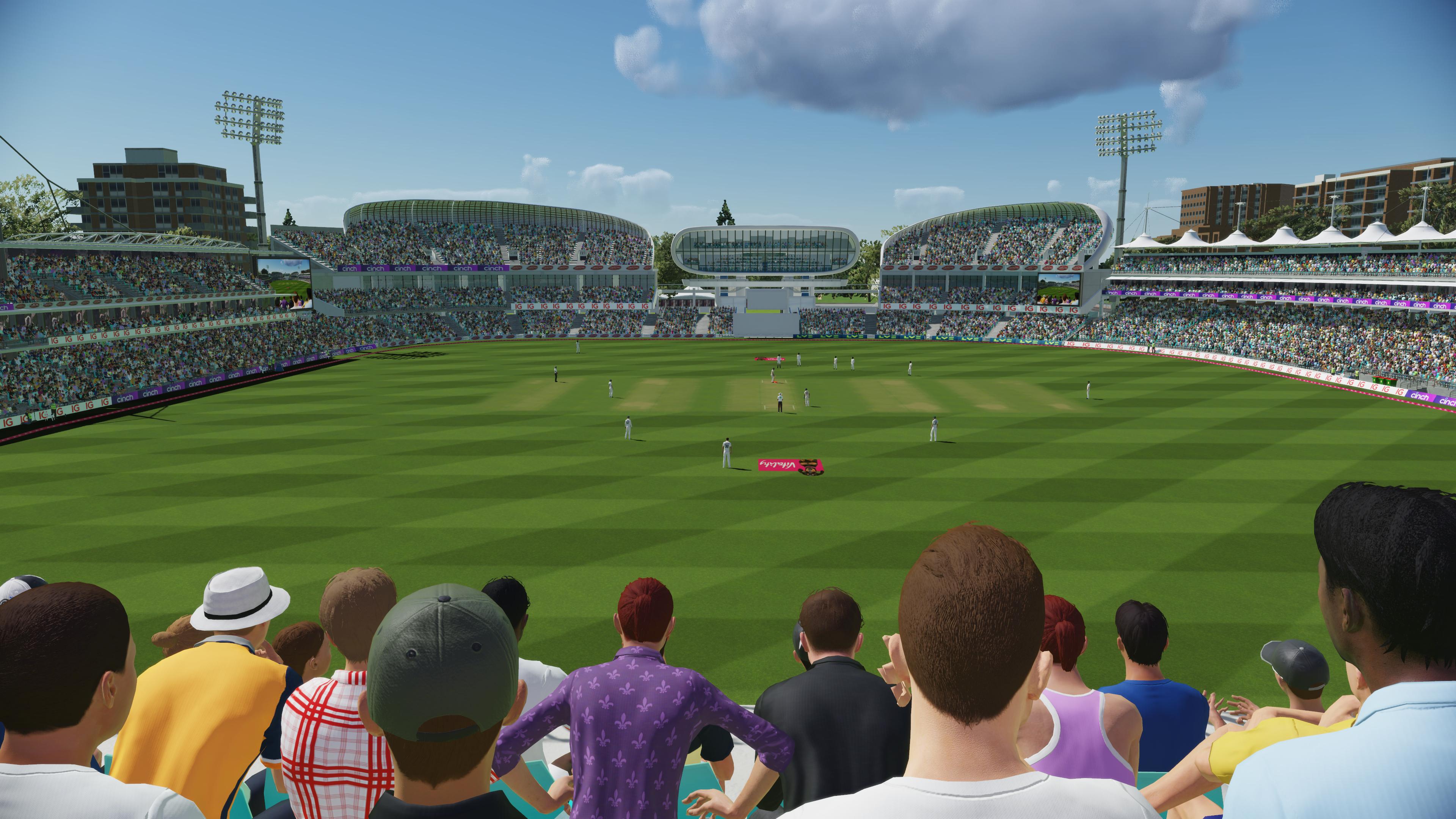 Скриншот №3 к Официальная игра Эшес Cricket 22