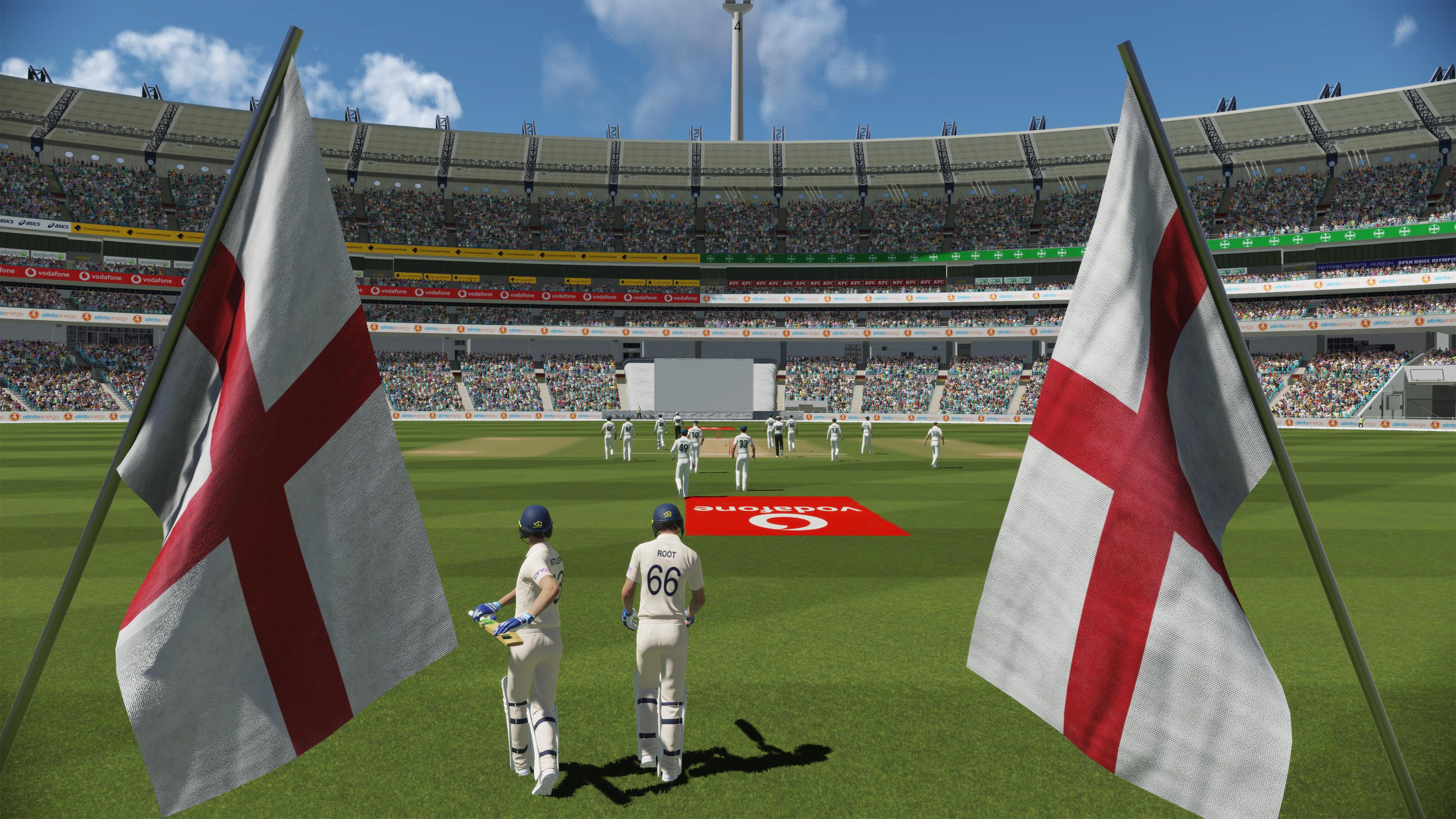 Скриншот №5 к Официальная игра Эшес Cricket 22