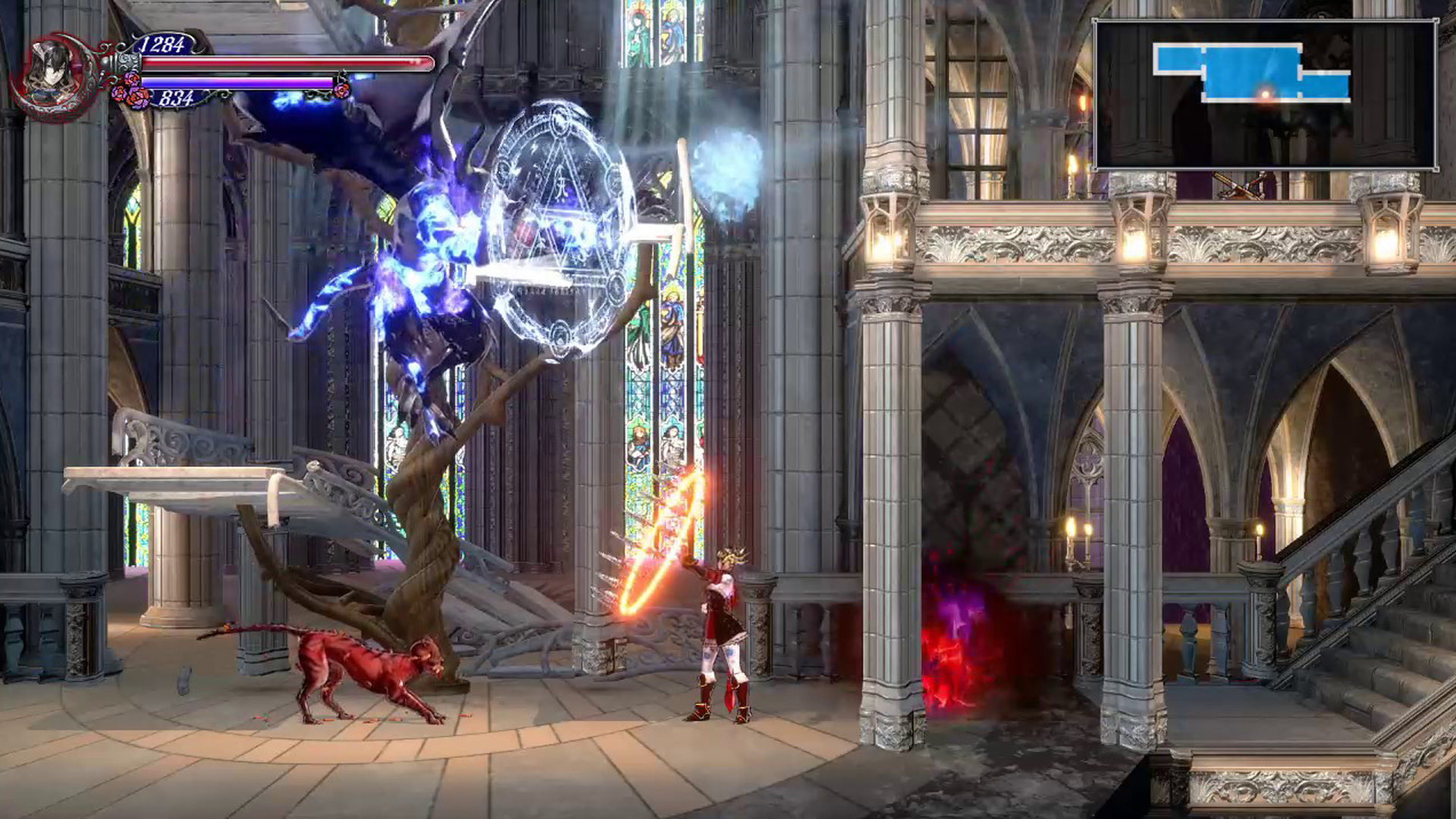 Banner do game Bloodstained: Ritual of the Night para PS4