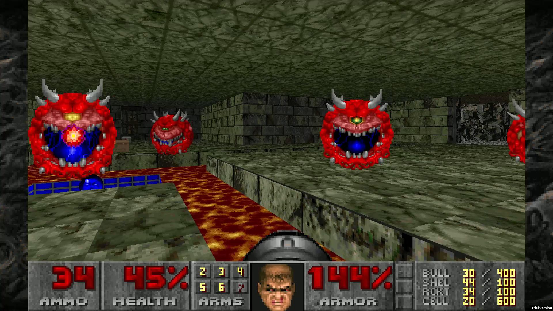 Скриншот №4 к DOOM 1993