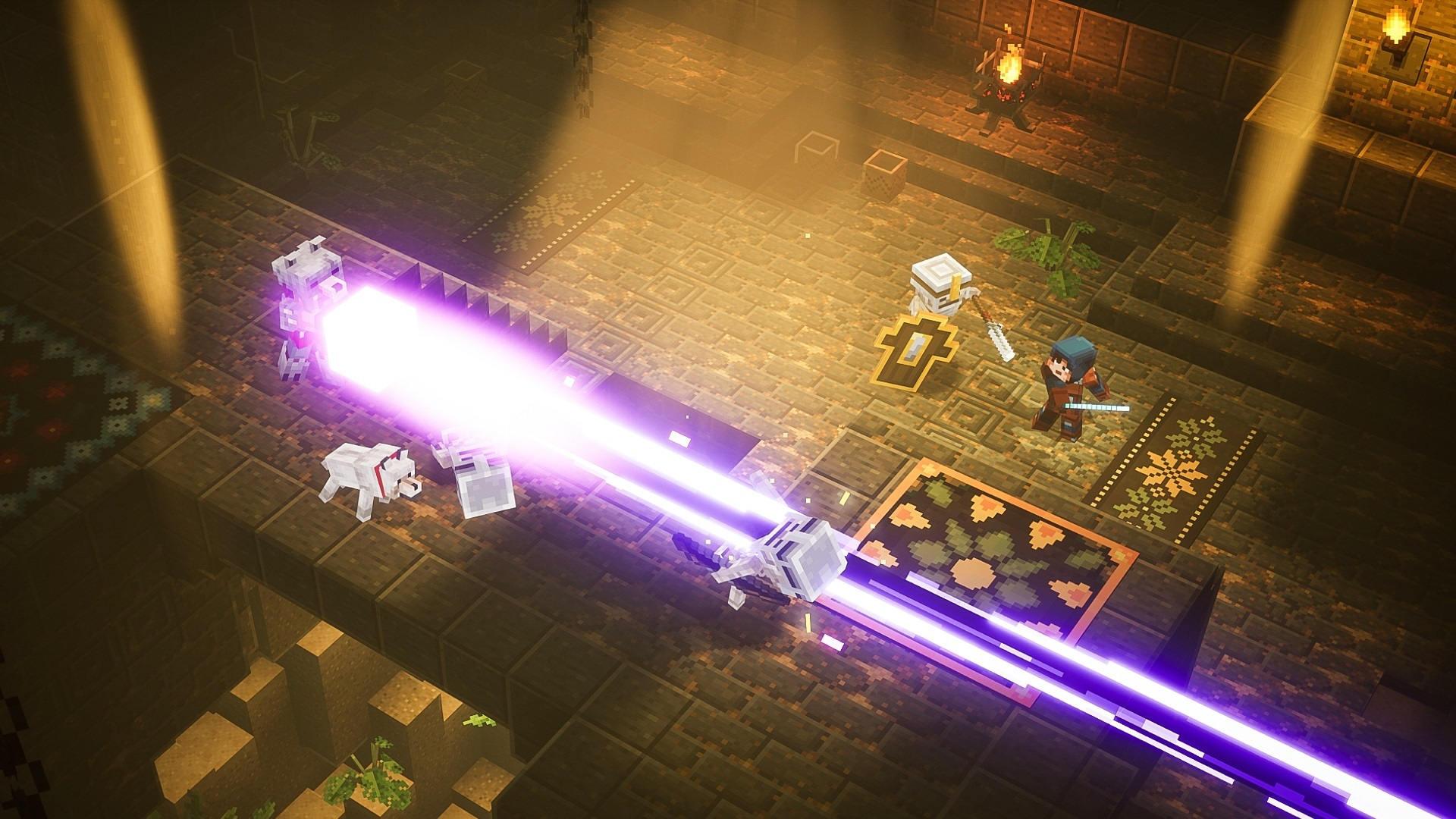 Скриншот №3 к Minecraft Dungeons героическое издание