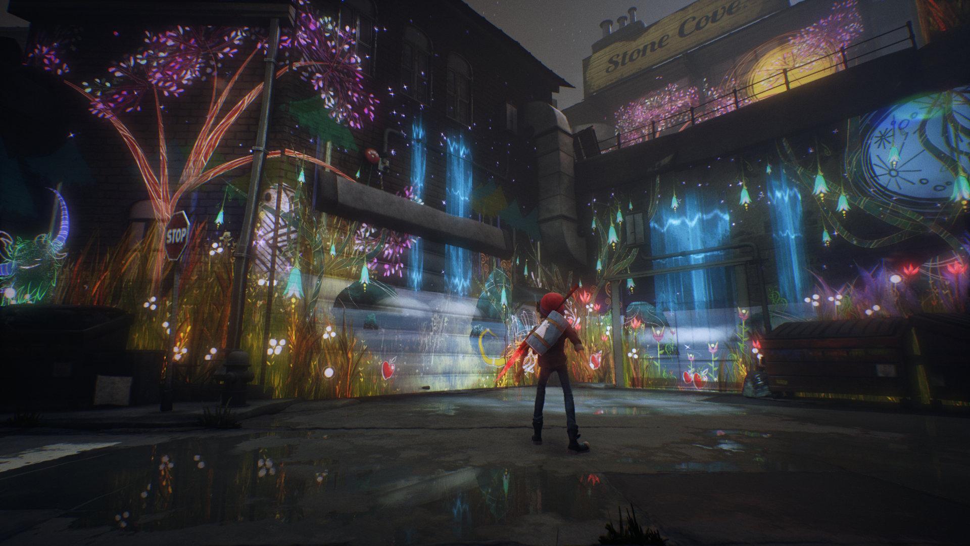 Скриншот №1 к Concrete Genie Digital Deluxe Edition