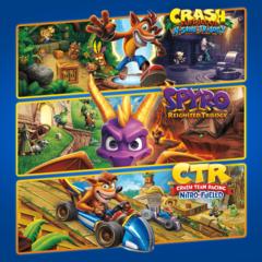 Тройной набор Crash™ + Spyro™