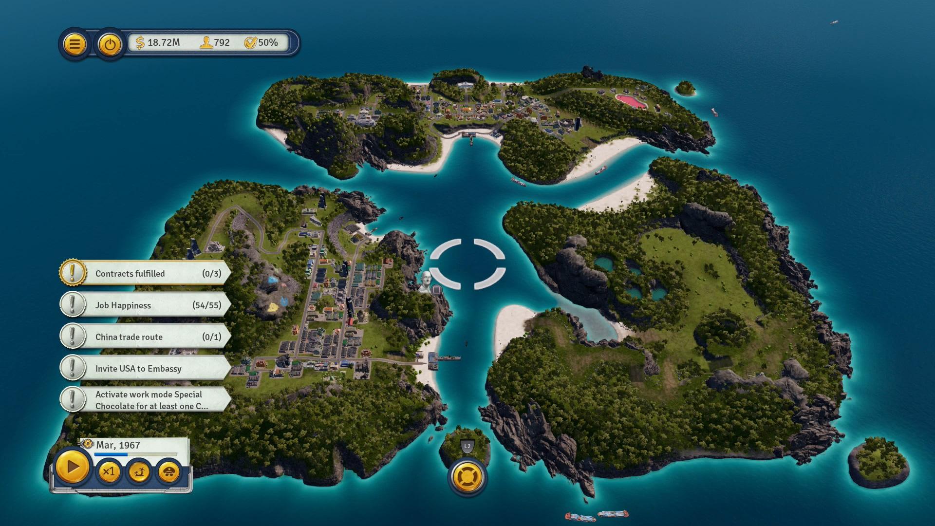 Скриншот №3 к Tropico 6 El Prez Edition