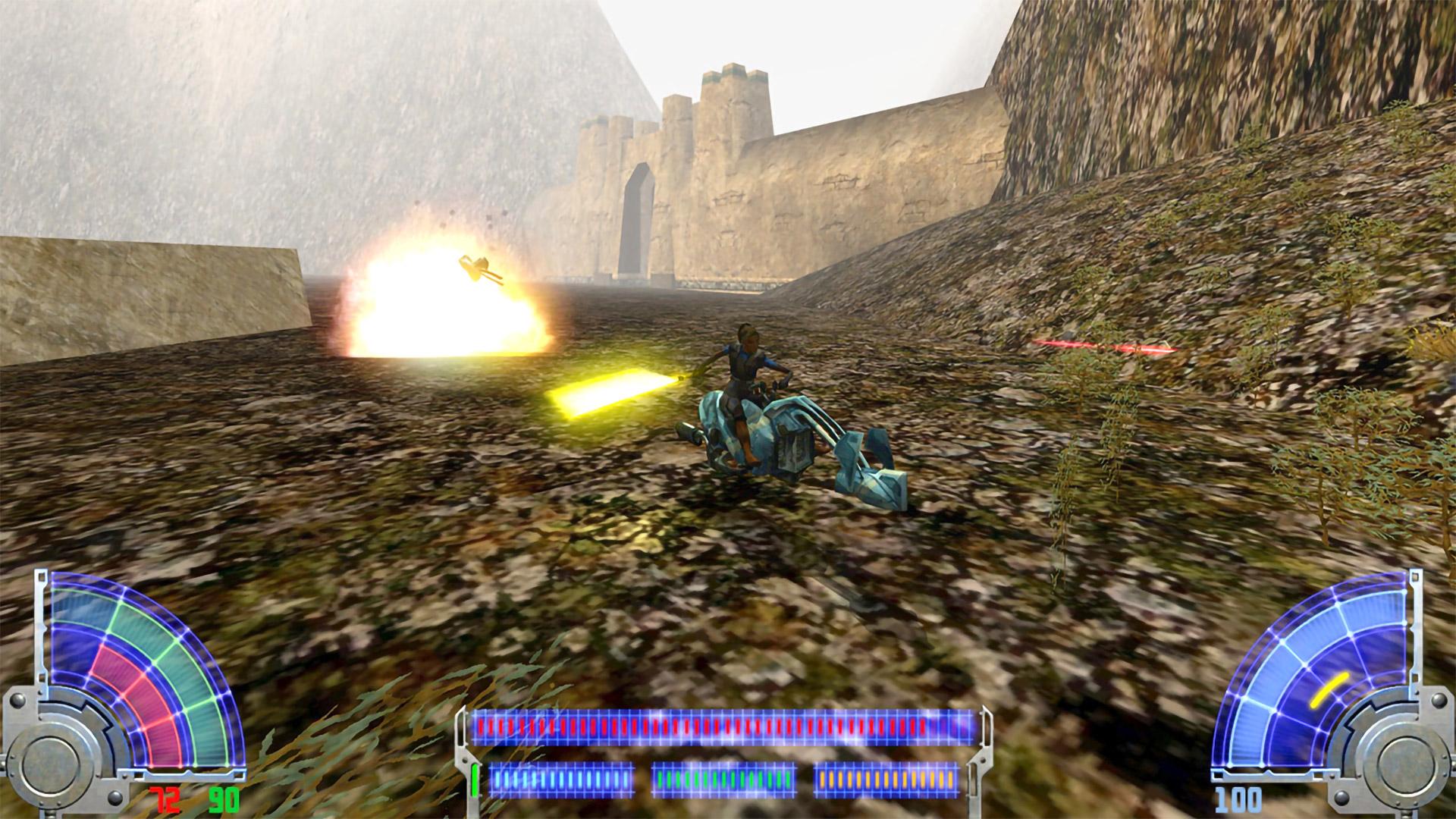Скриншот №2 к STAR WARS Jedi Knight Jedi Academy