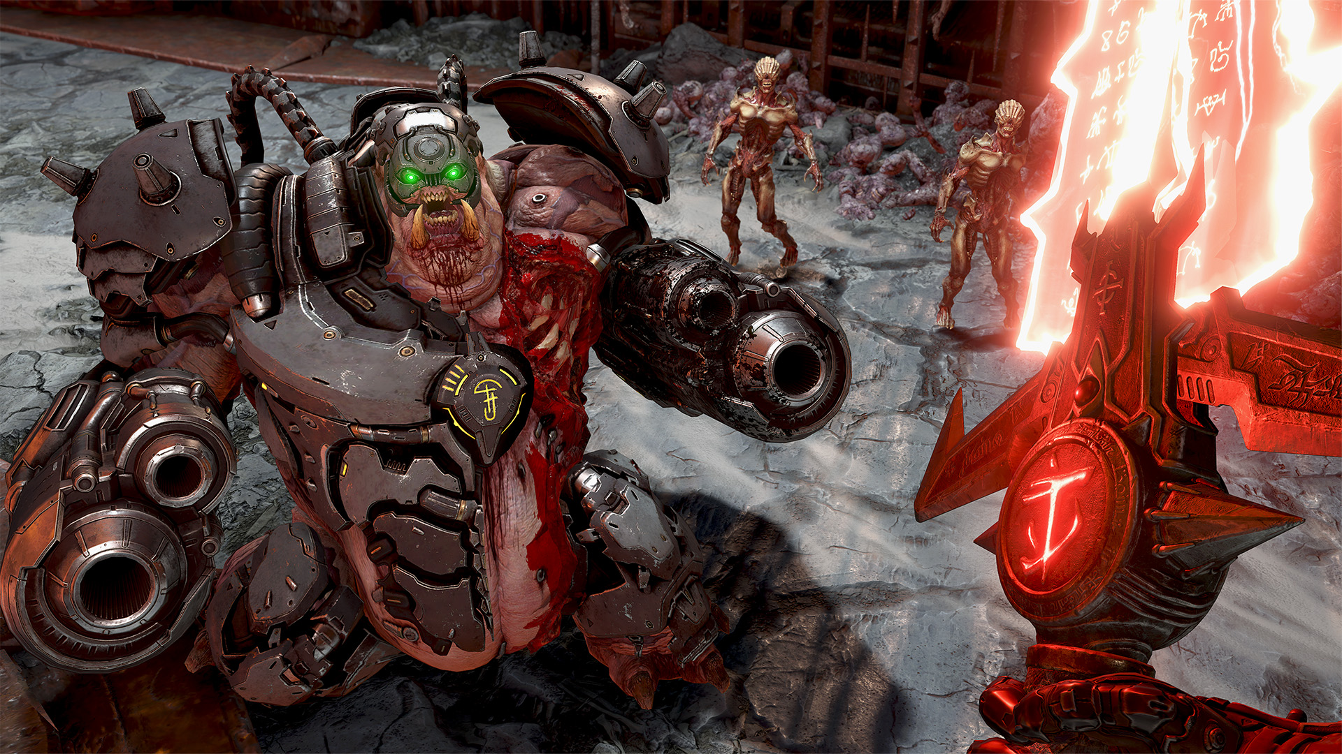 Скриншот №1 к DOOM Eternal Издание Deluxe