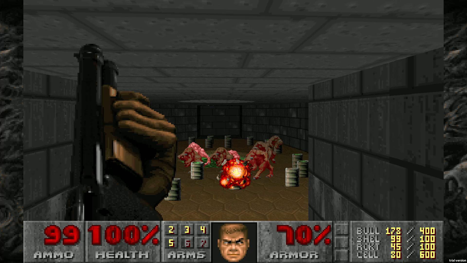Скриншот №3 к DOOM 1993