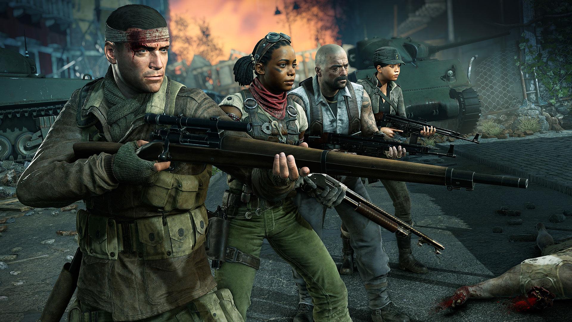 Скриншот №1 к Zombie Army 4 Dead War