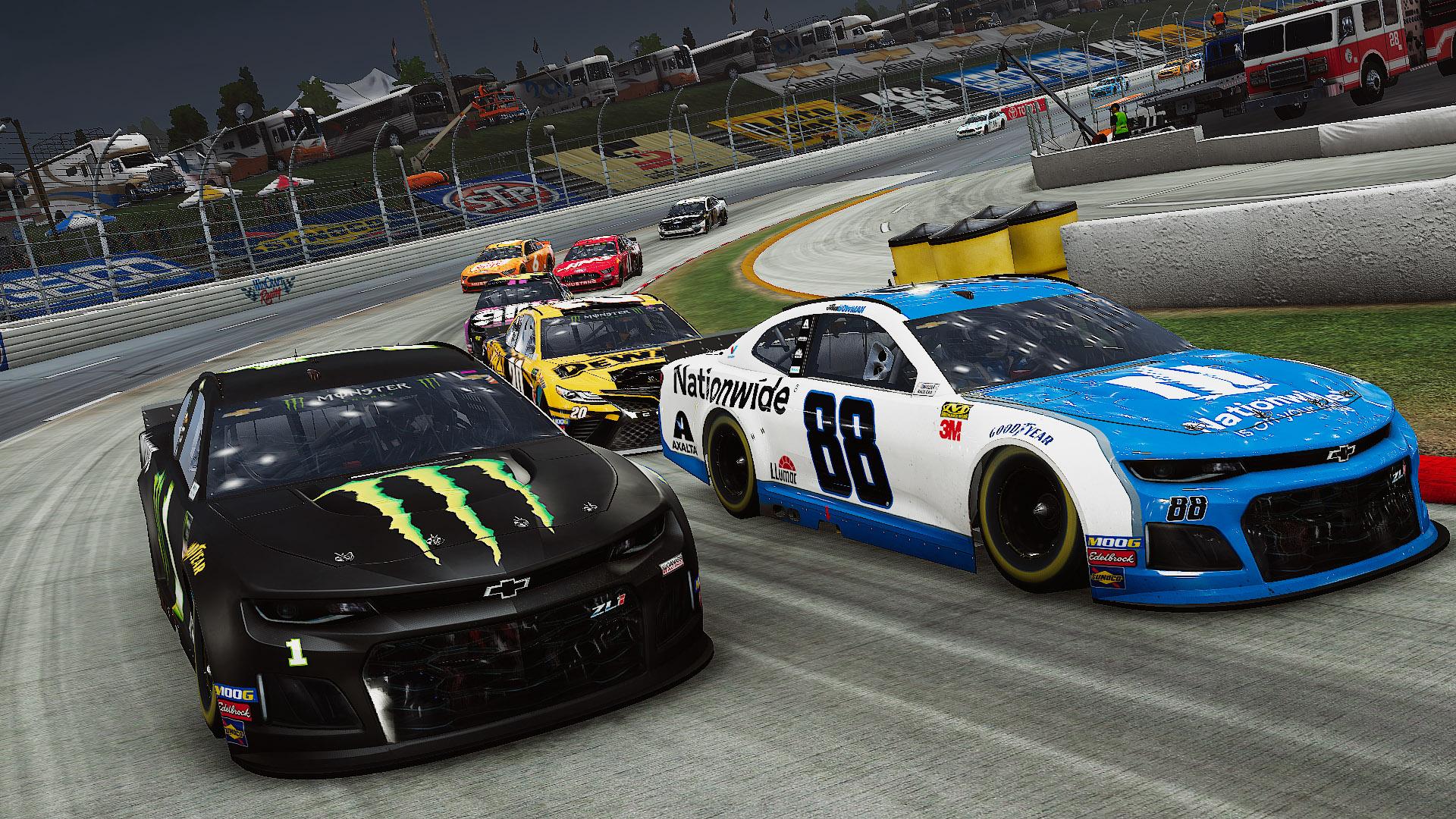 Banner do game NASCAR Heat 4 para PS4