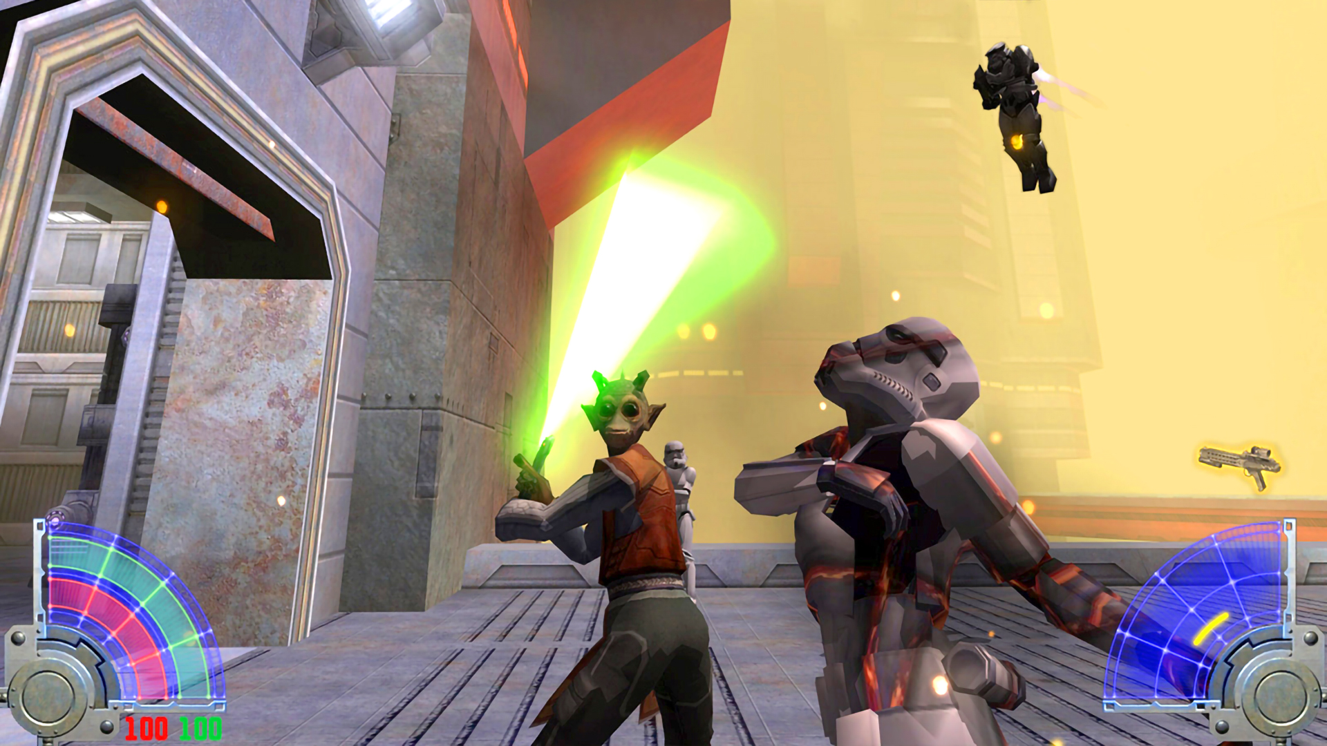 Скриншот №3 к STAR WARS Jedi Knight Jedi Academy