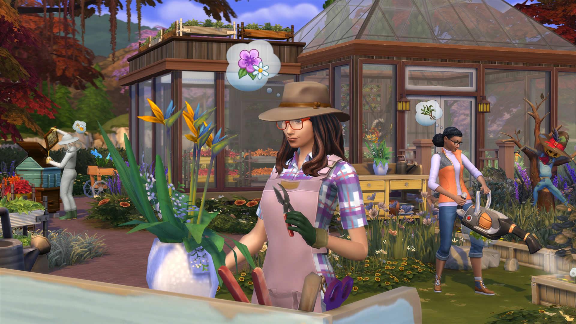 Скриншот №8 к The Sims 4 Времена года