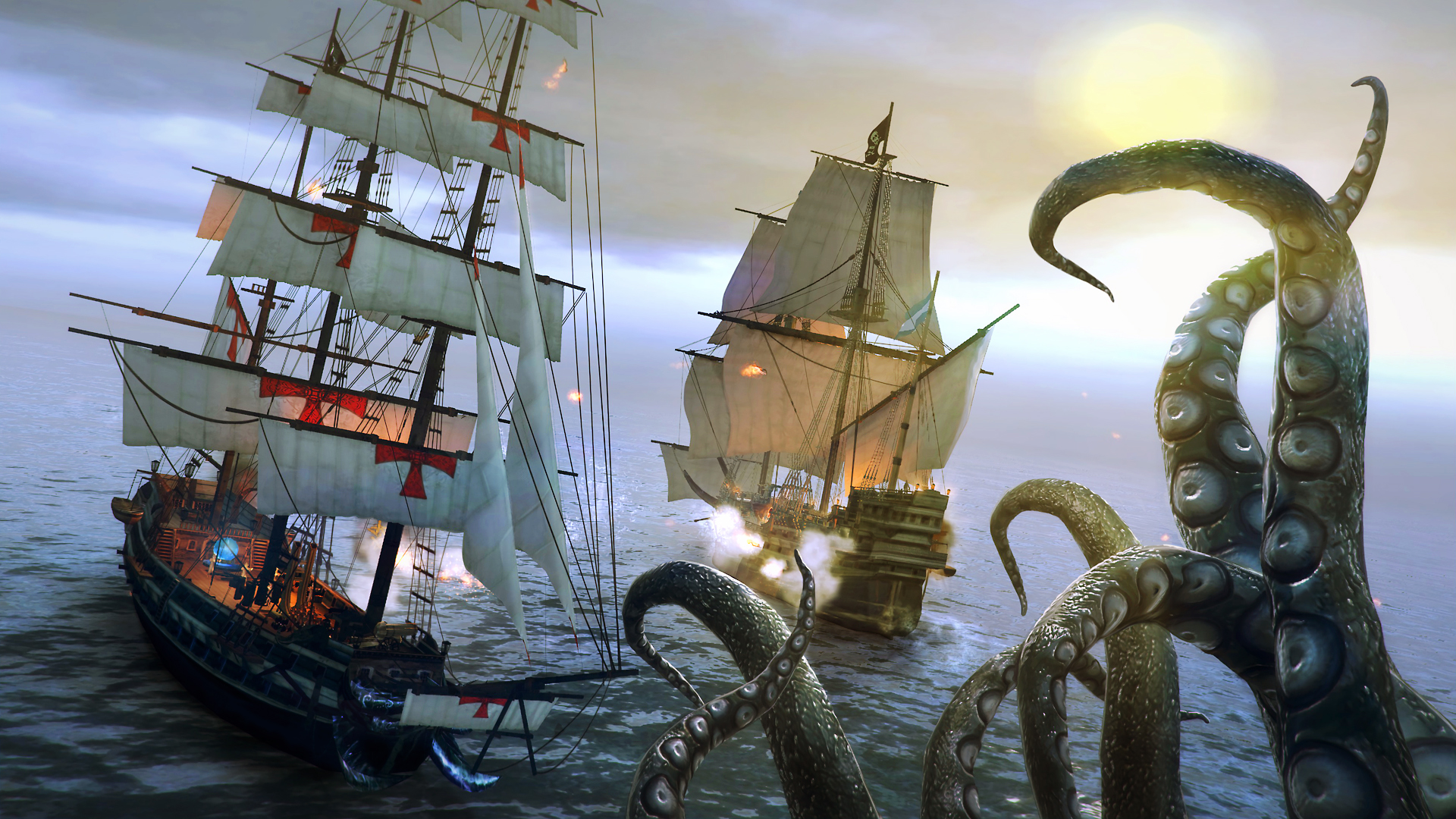 Скриншот №8 к Under The Jolly Roger