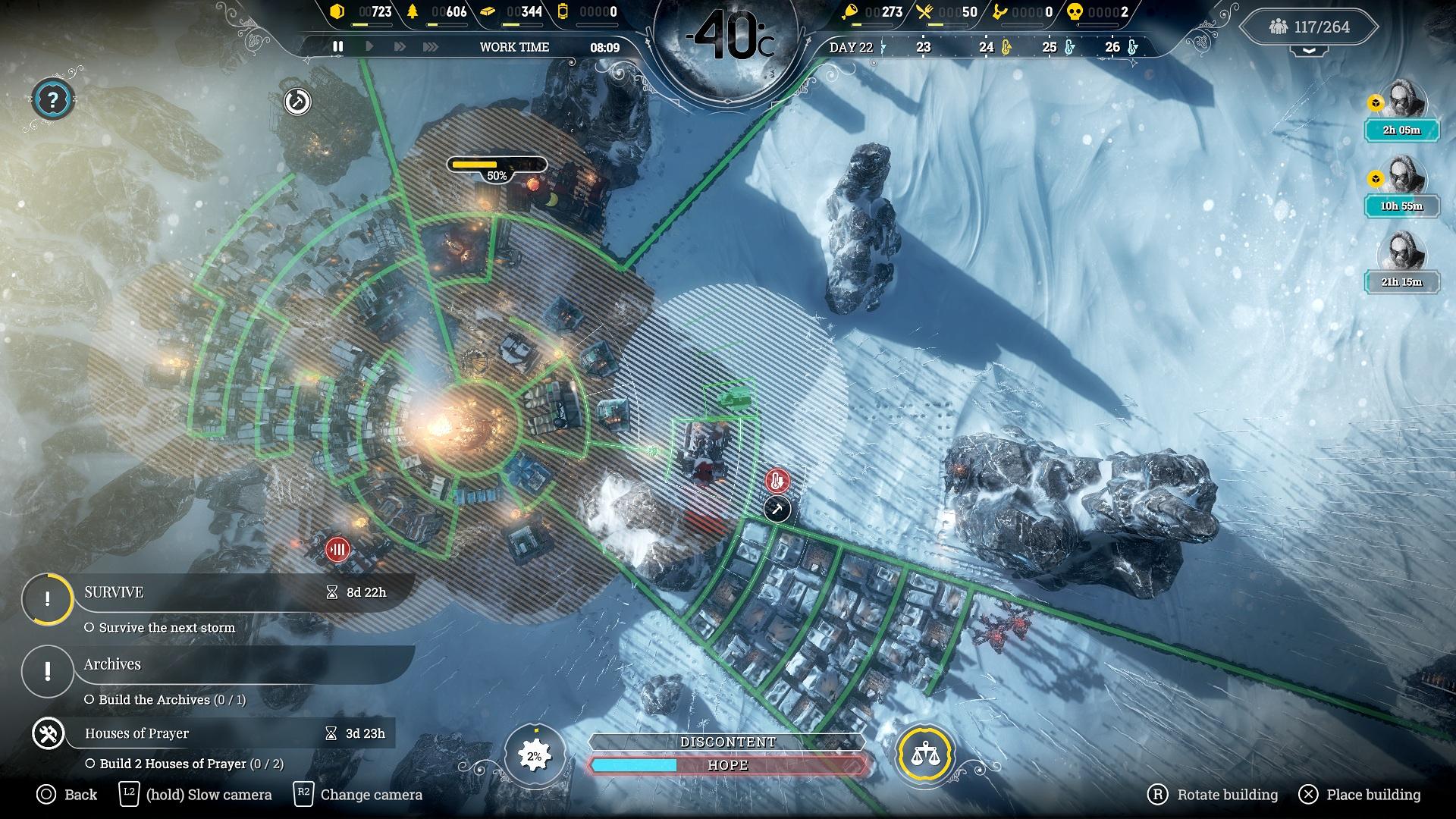 Скриншот №6 к Frostpunk Console Edition