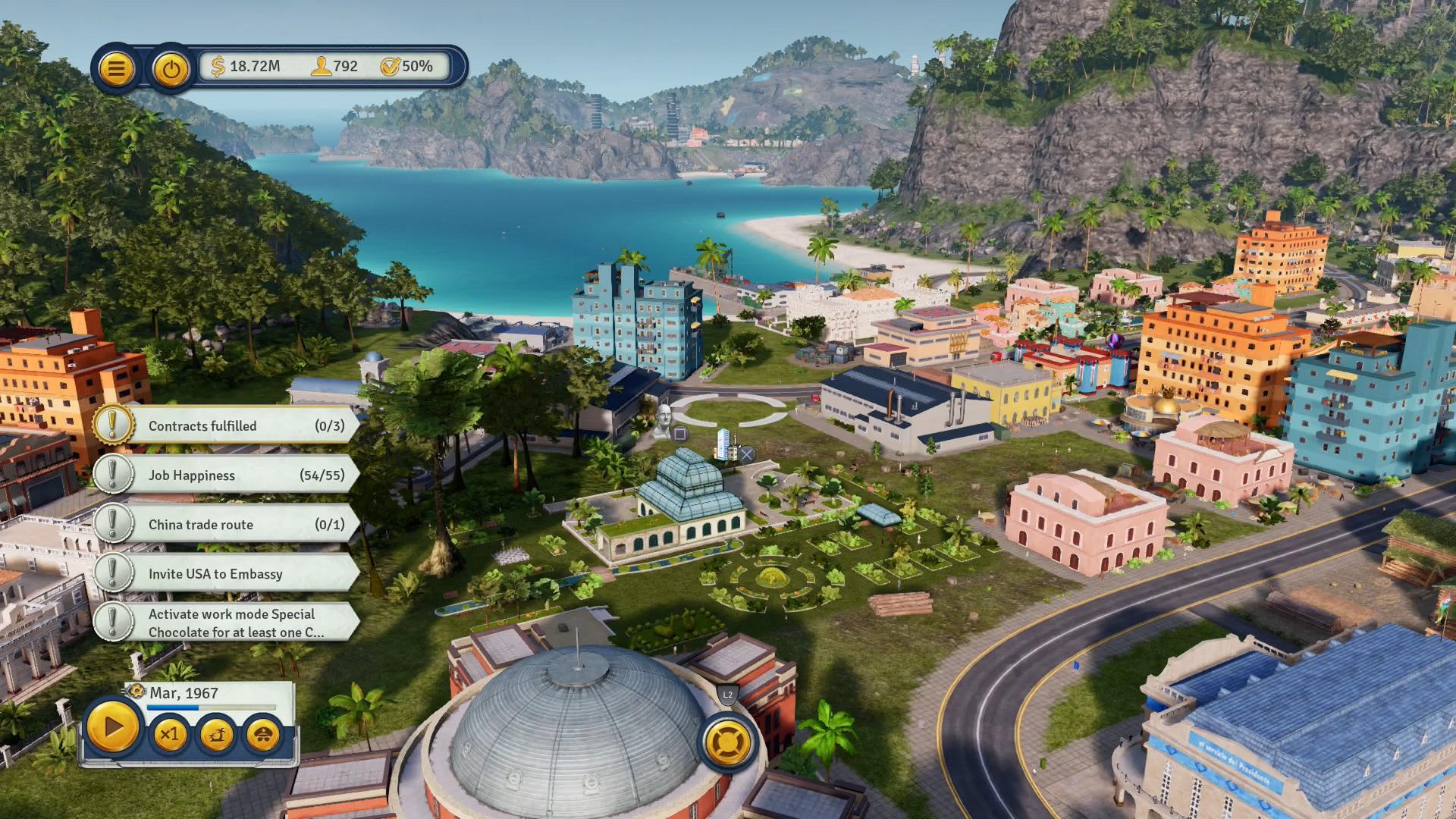 Скриншот №2 к Tropico 6 El Prez Edition