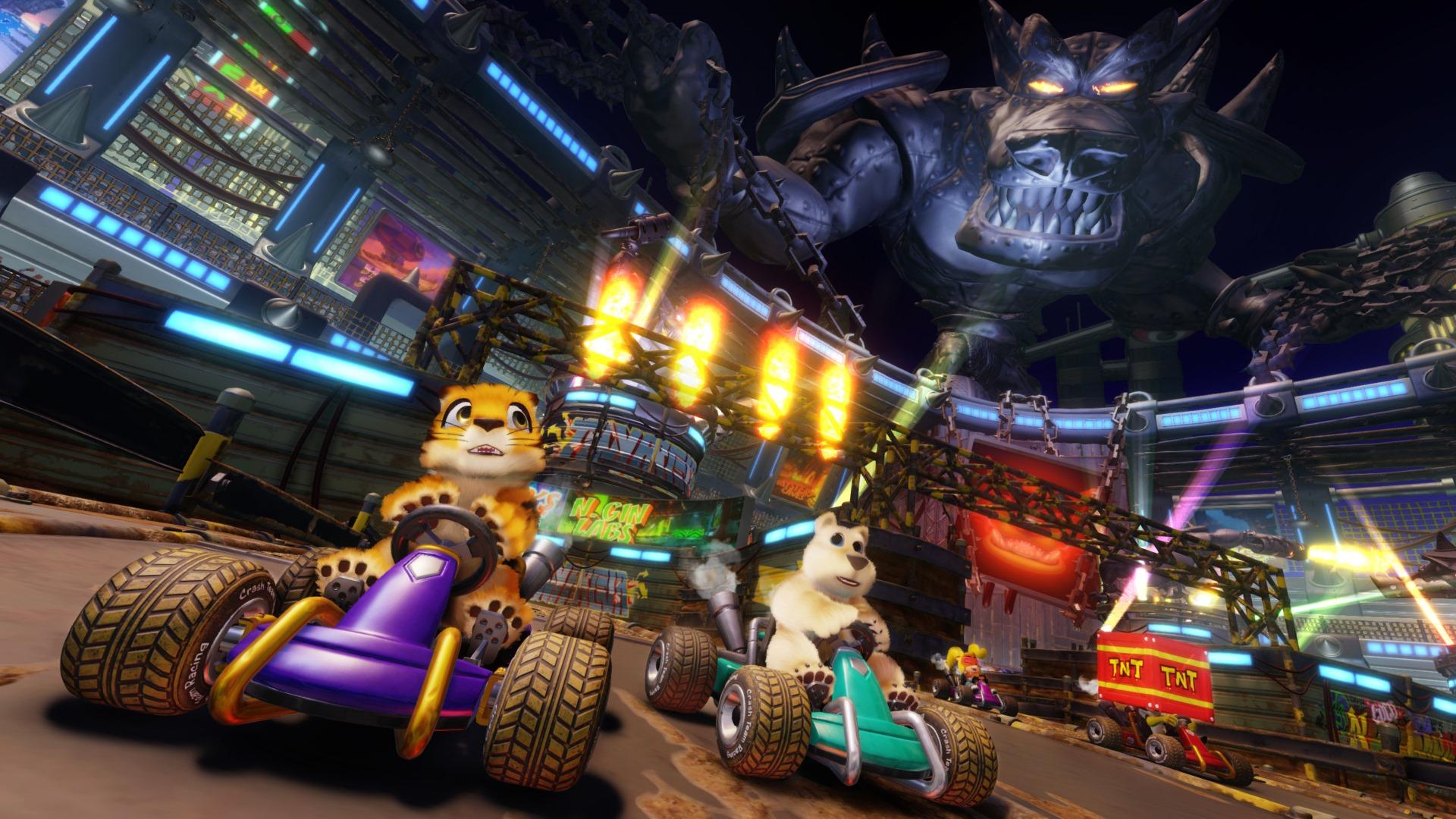 Аренда Crash Team Racing Nitro-Fueled на PlayStation 4