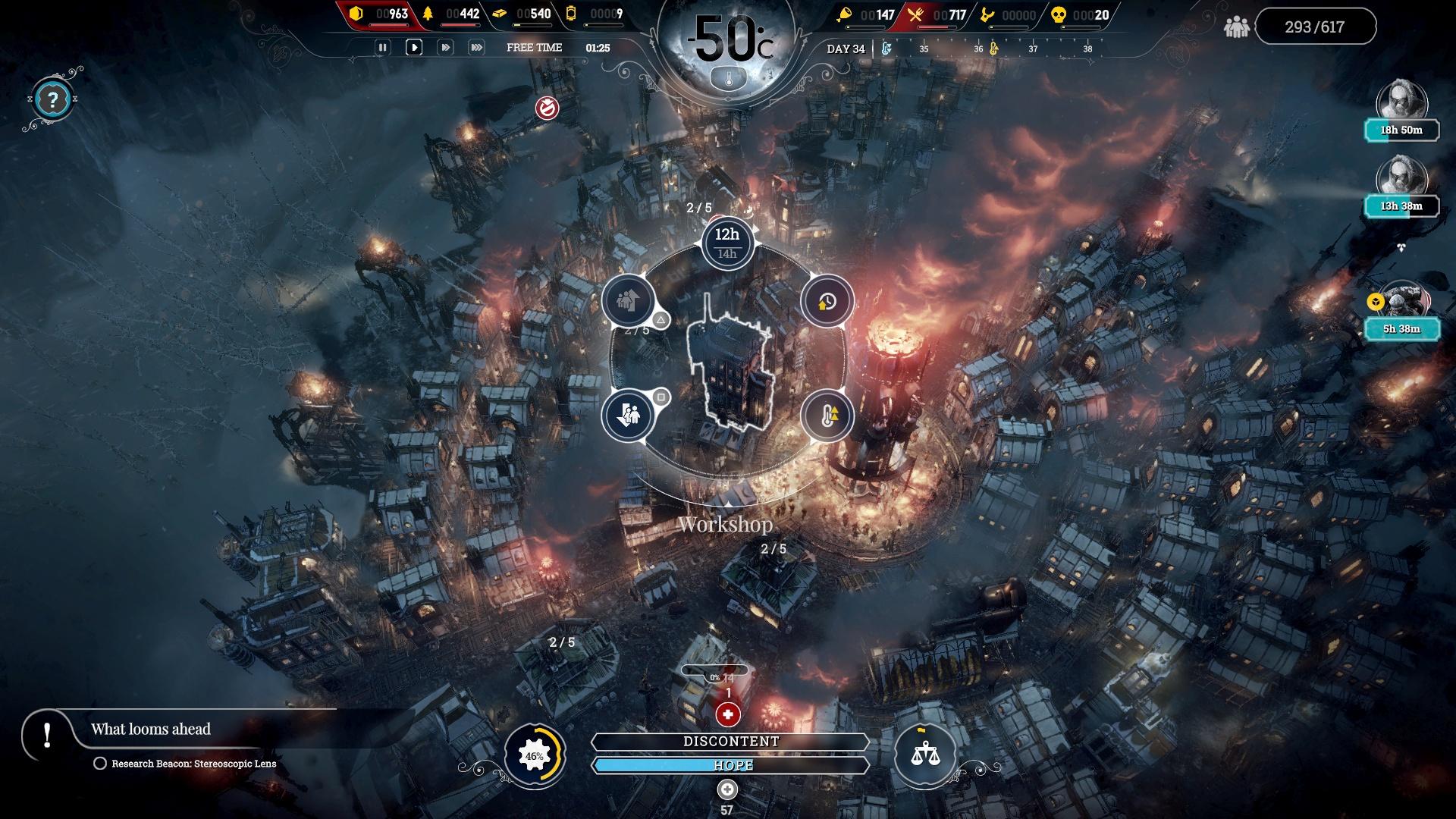 Скриншот №3 к Frostpunk Console Edition