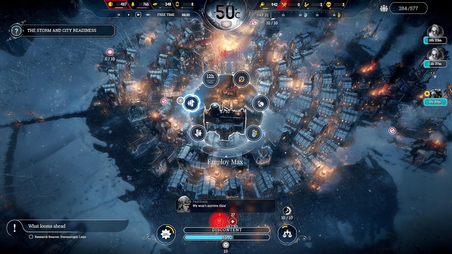 Скриншот №8 к Frostpunk Console Edition
