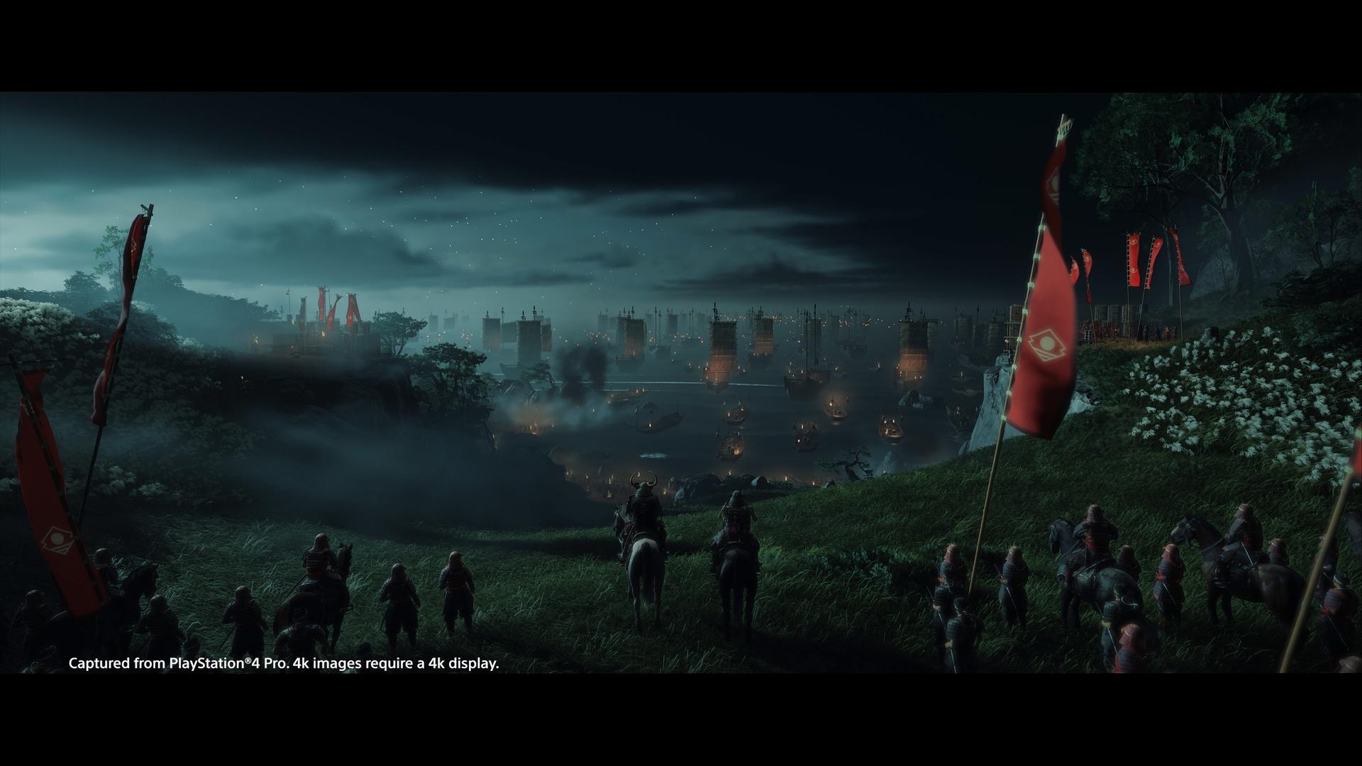 Прокат Ghost of Tsushima на PS4