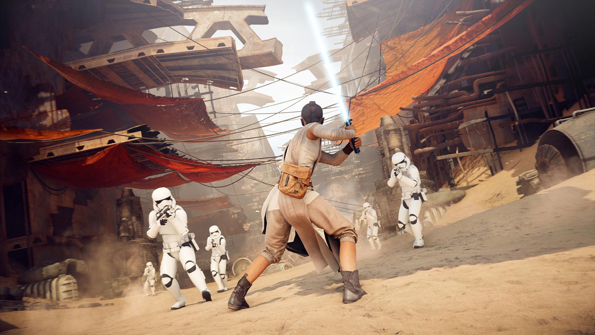 Скриншот №6 к STAR WARS Battlefront II — обновление до «Праздничного издан