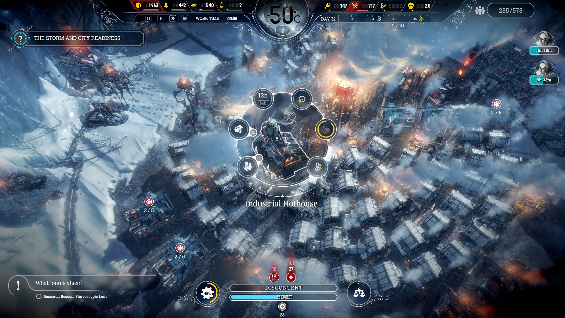 Скриншот №5 к Frostpunk Console Edition
