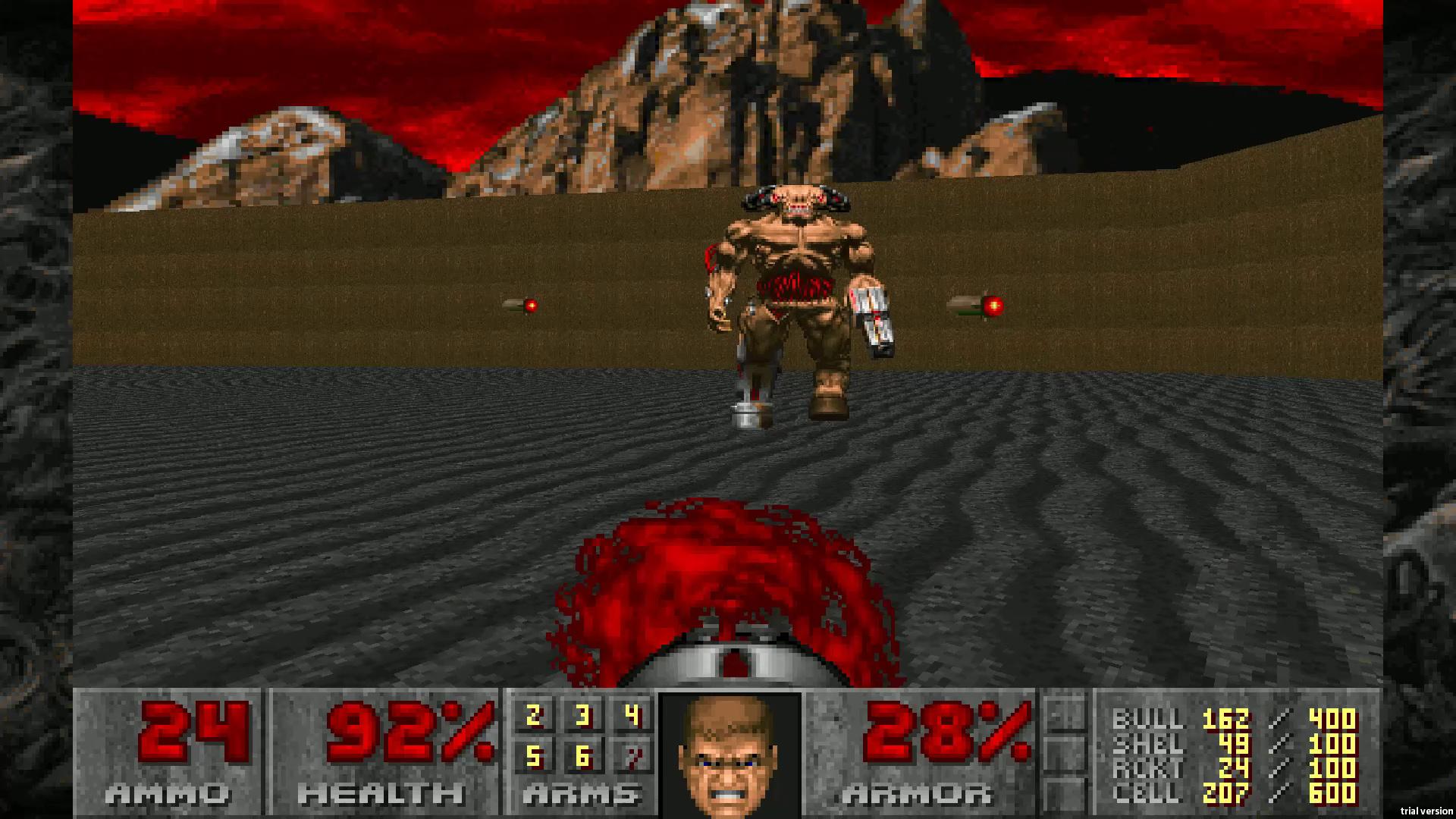 Скриншот №5 к DOOM 1993