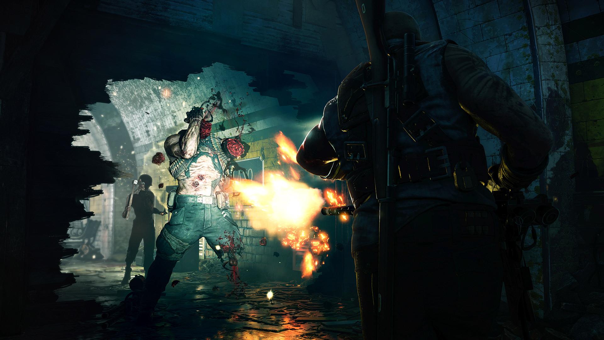 Скриншот №4 к Zombie Army 4 Dead War