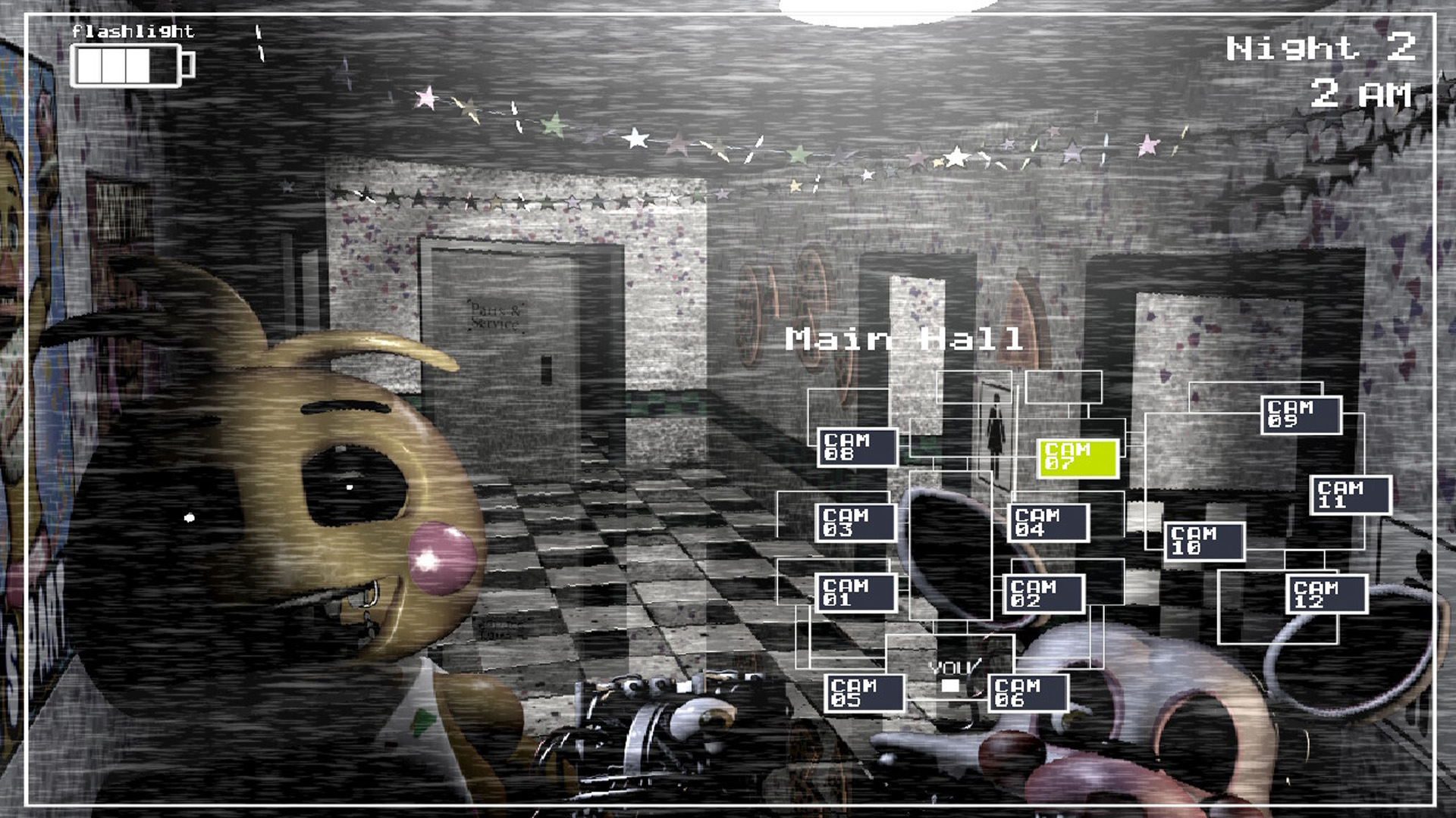 Скриншот №4 к Five Nights at Freddys 2
