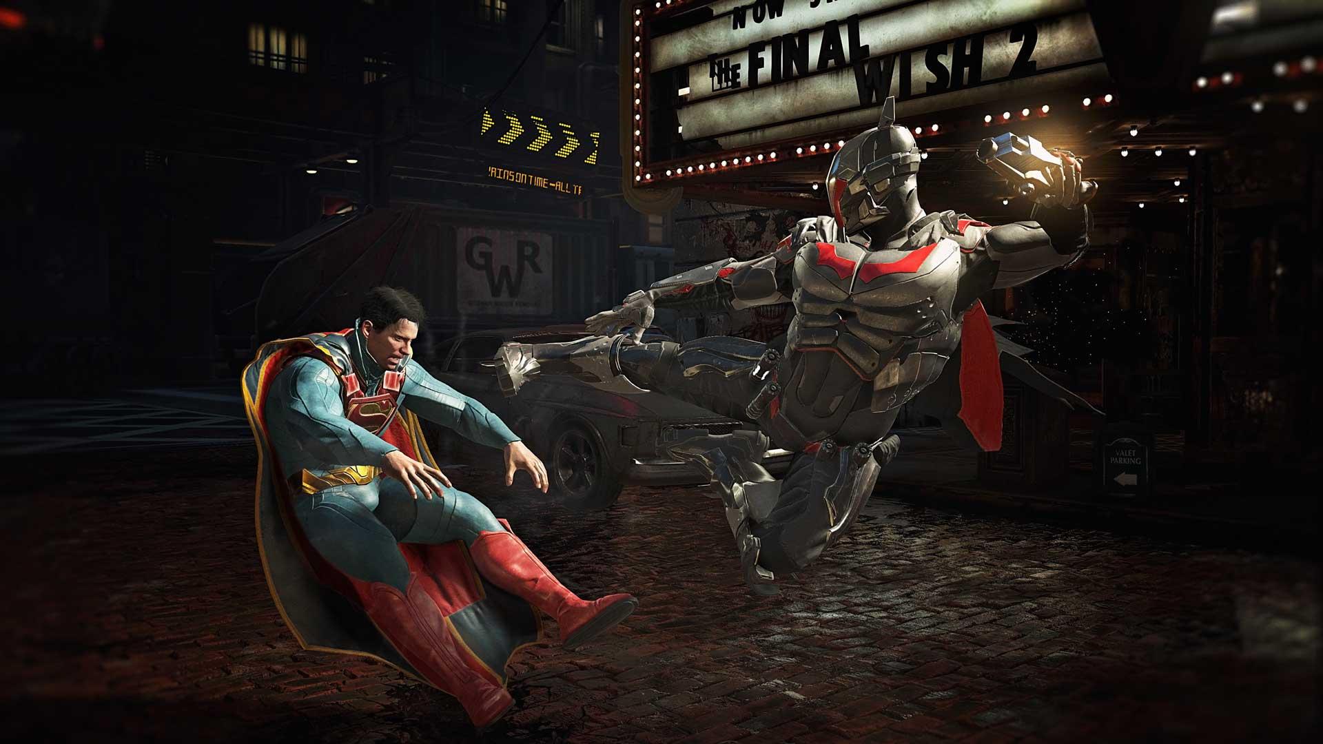 Скриншот №3 к Комплект Ultimate-издание MK11 + Injustice 2 - лег. издание
