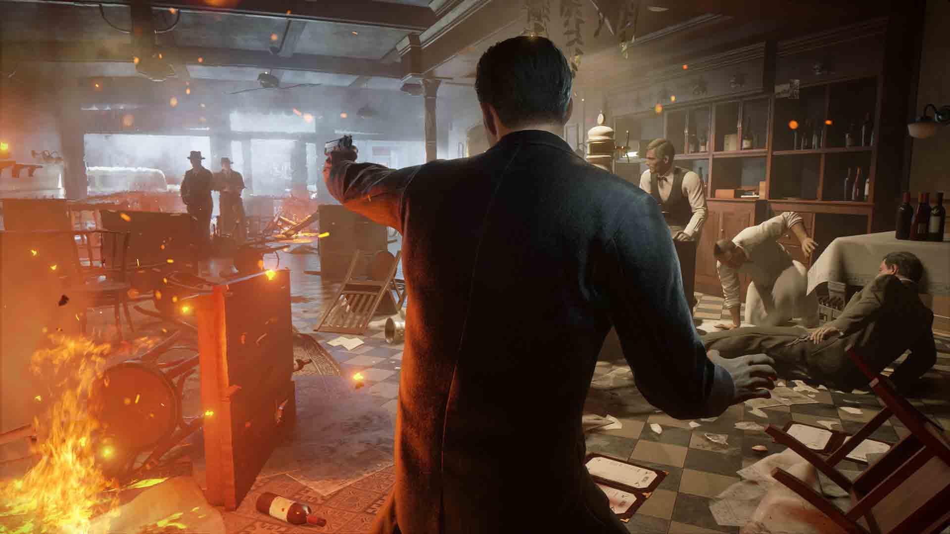 Скриншот №6 к Трилогия Mafia