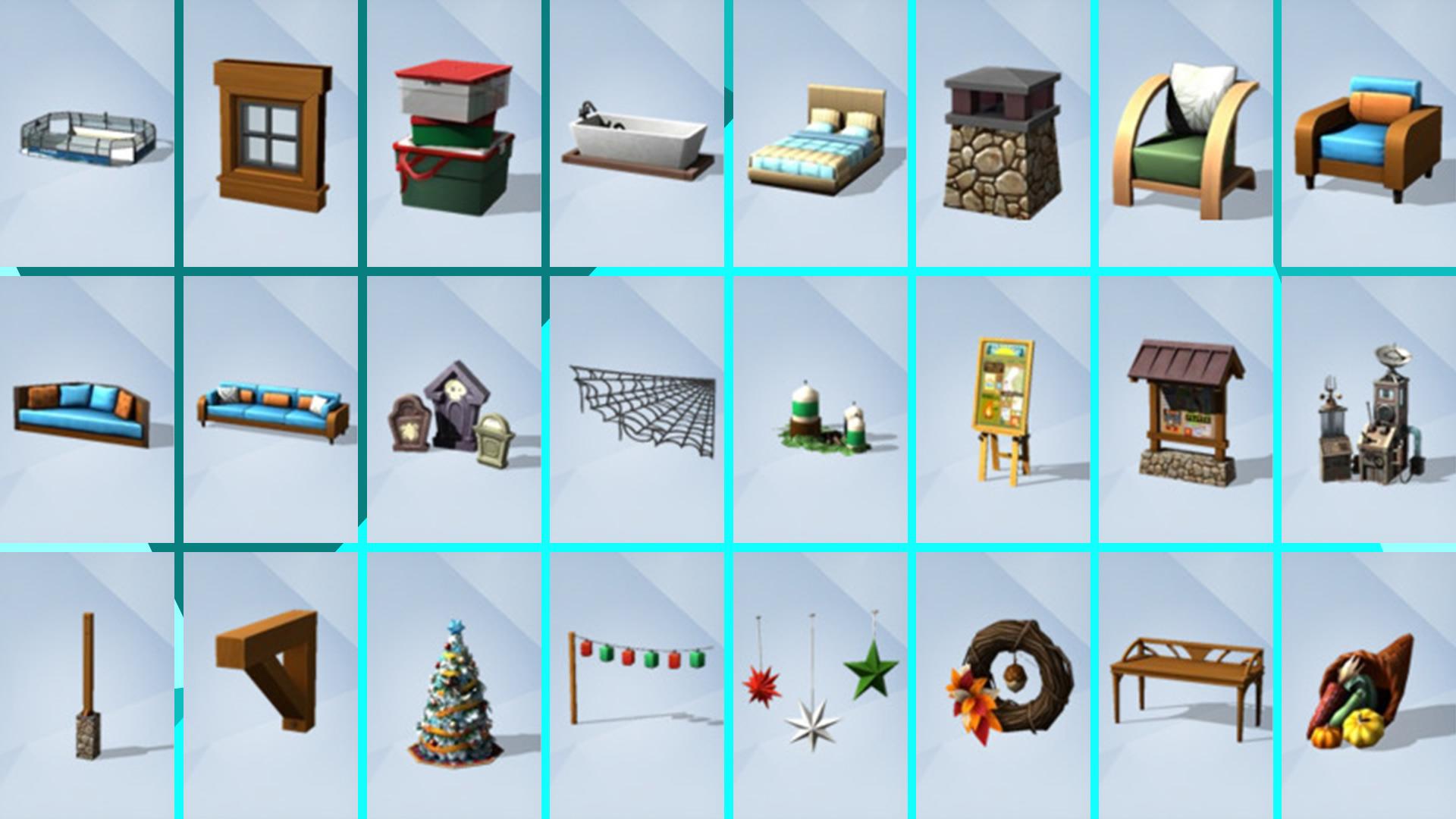 Скриншот №3 к The Sims 4 Времена года