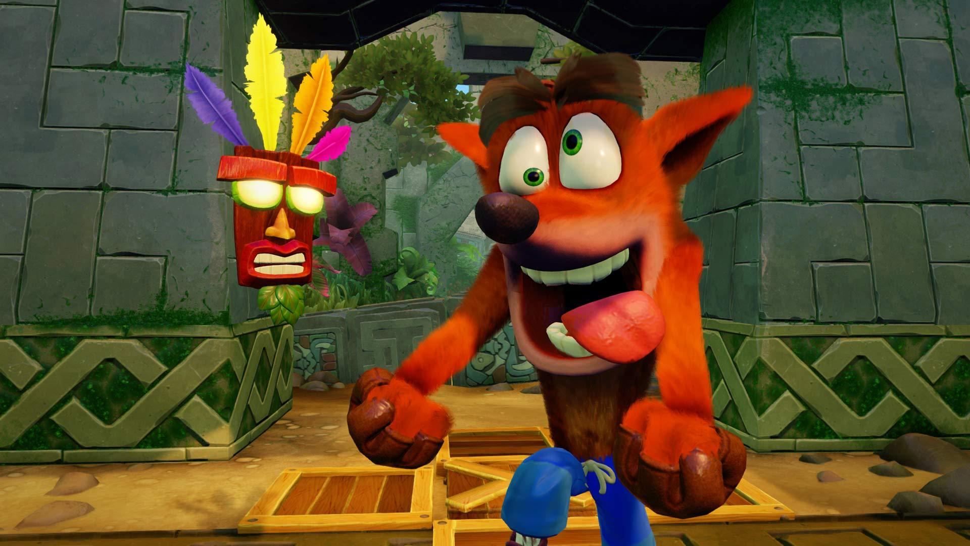 Скриншот №1 к Тройной набор Crash™ + Spyro™