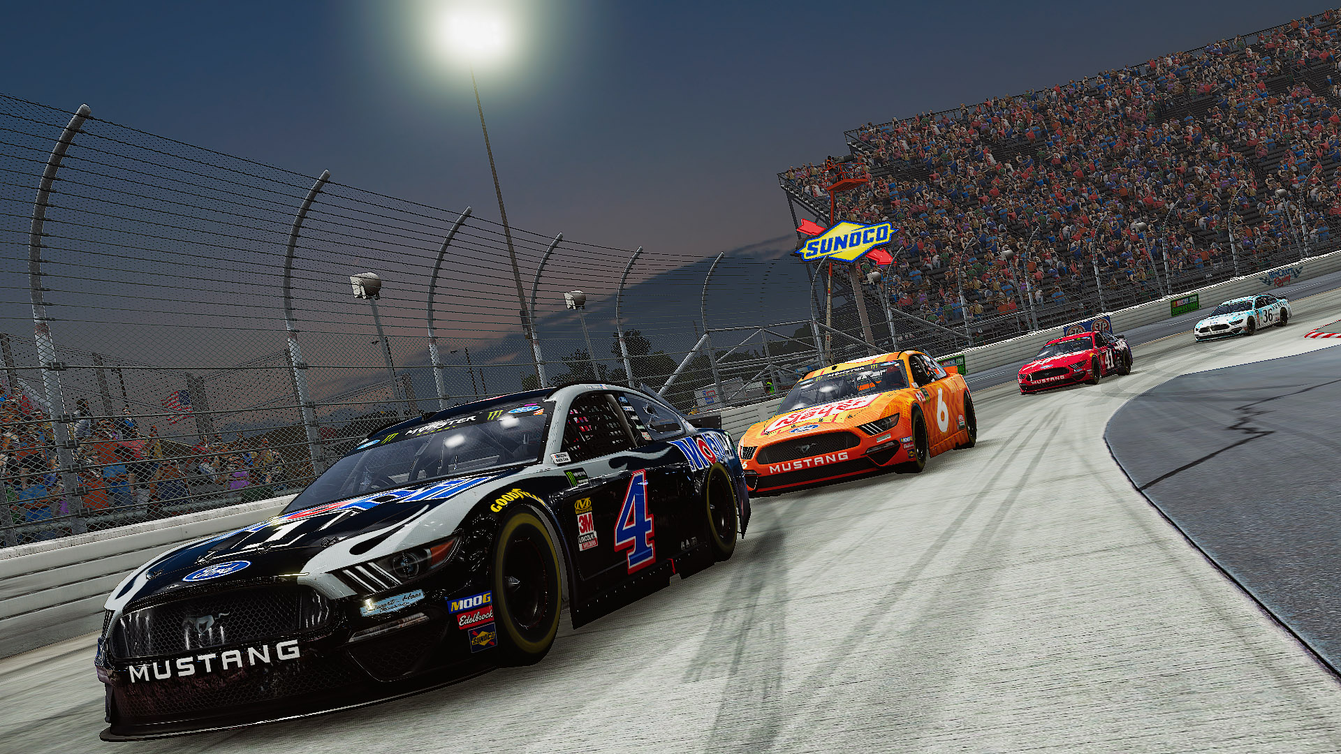 Banner do game NASCAR Heat 4 para PS4