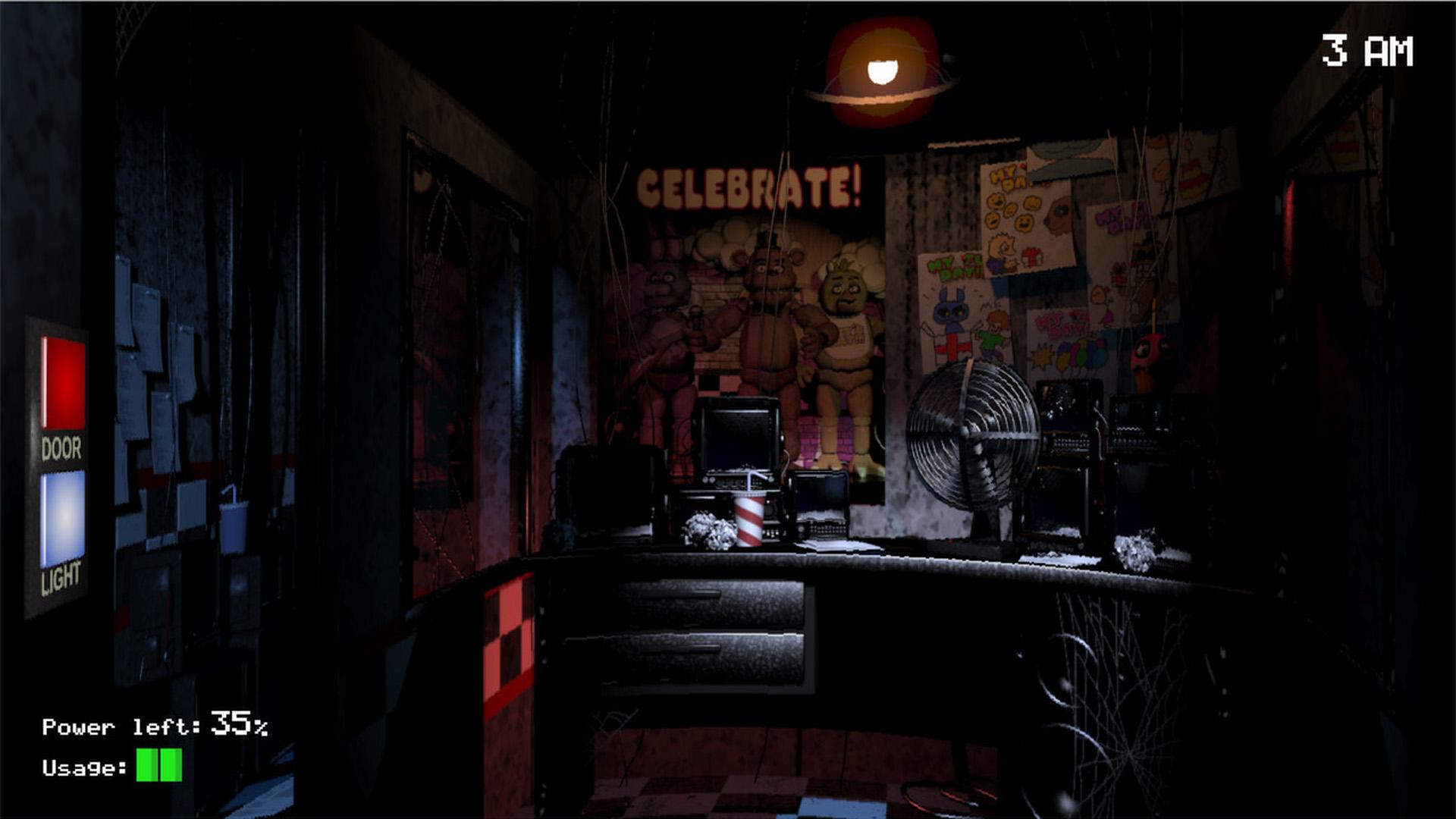 Скриншот №2 к Five Nights at Freddys