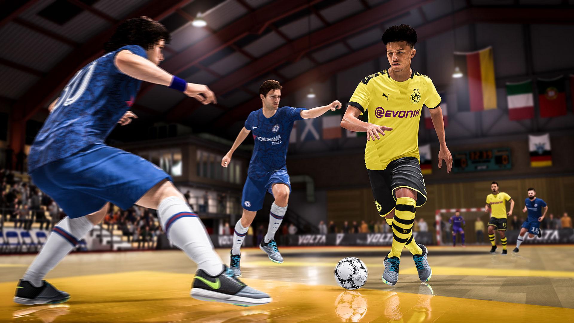 Скриншот №4 к EA SPORTS FIFA 20