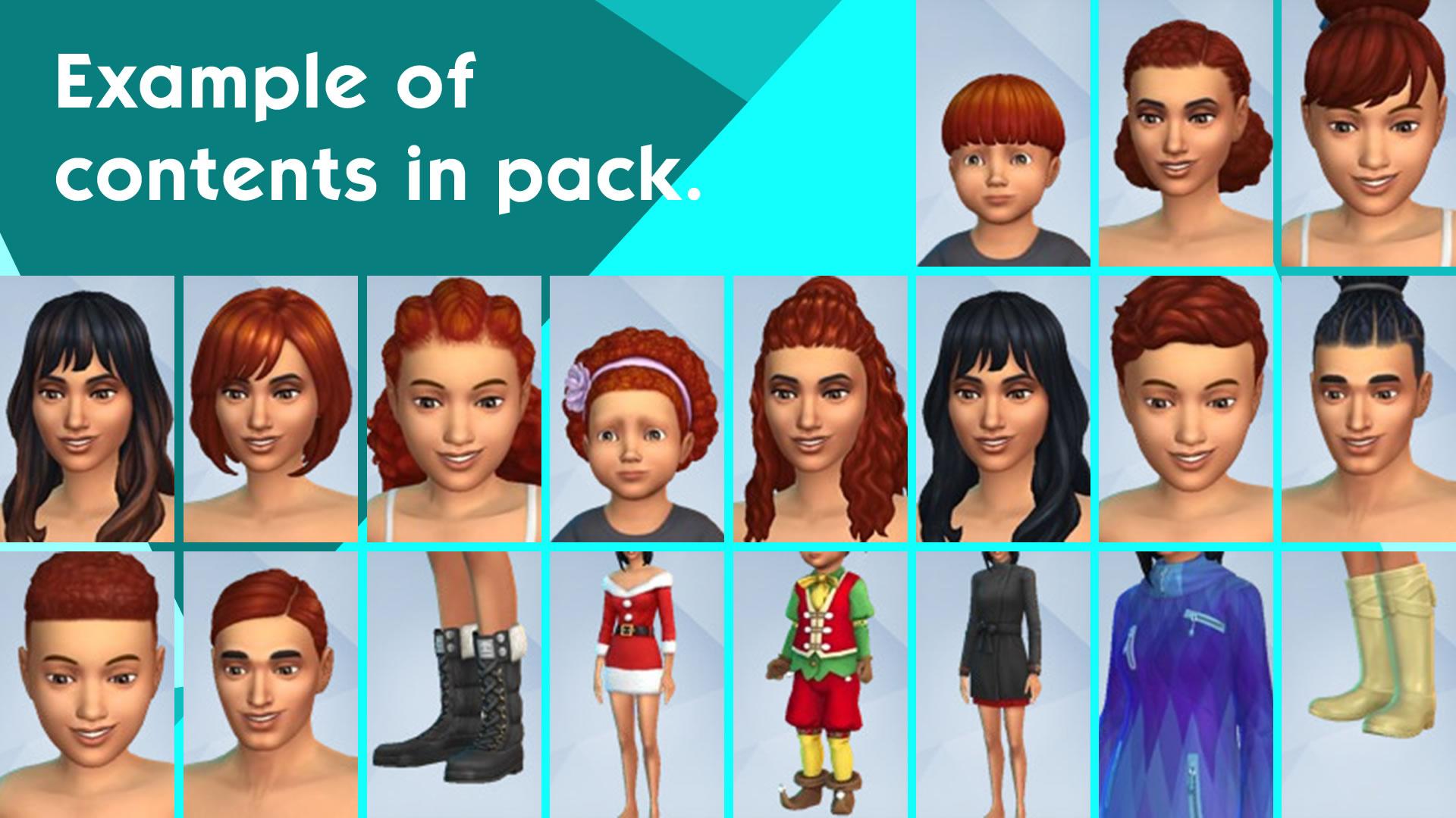 Скриншот №1 к The Sims 4 Времена года