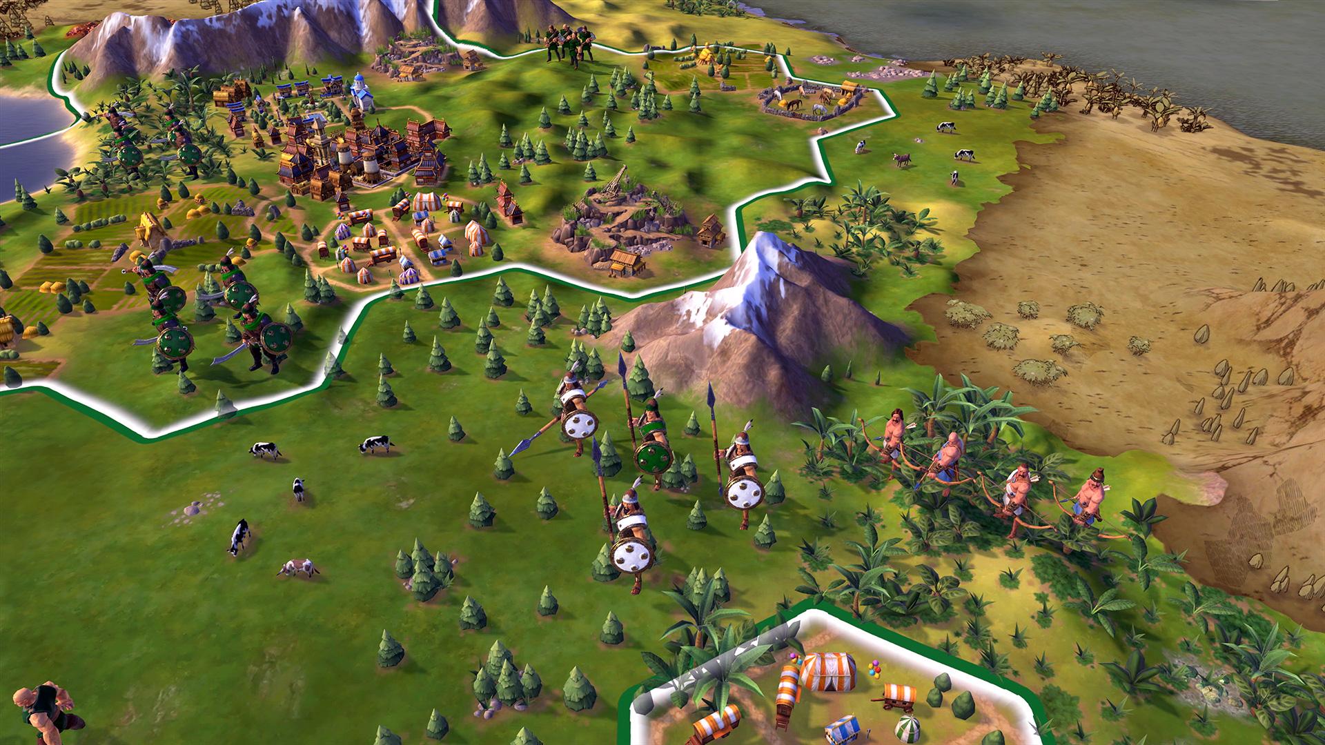 Скриншот №2 к Sid Meiers Civilization VI