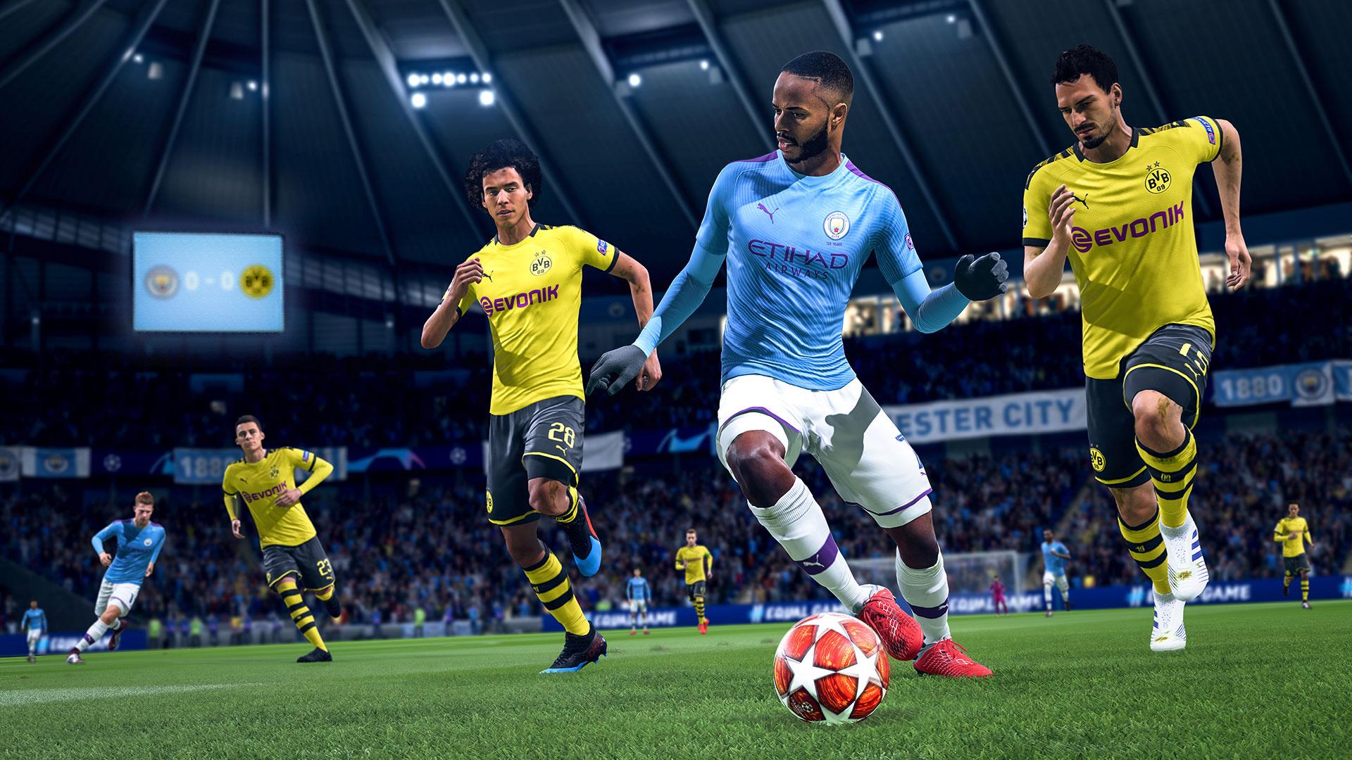Banner do game Fifa 20  para PS4