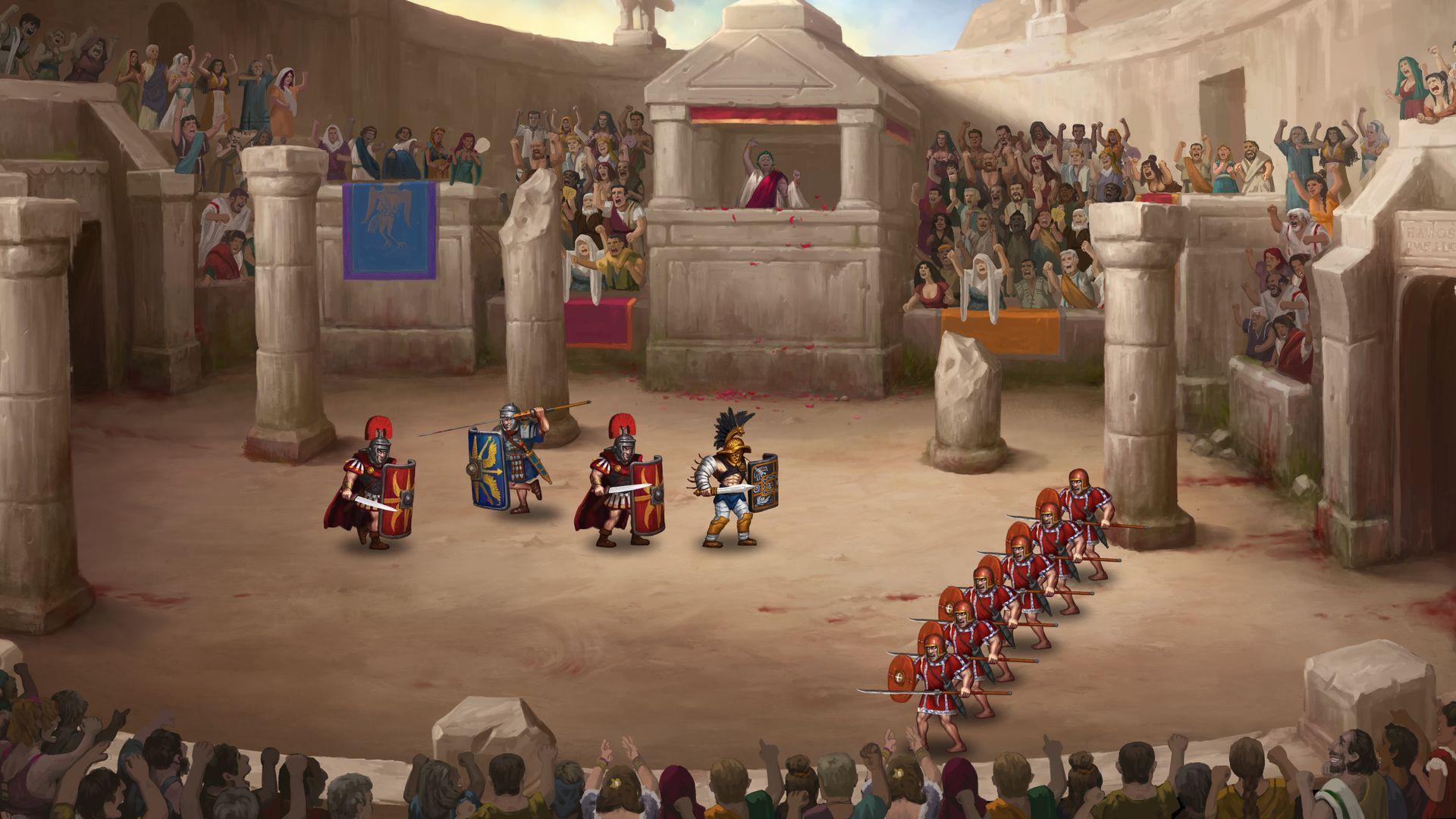 Скриншот №7 к Story of a Gladiator