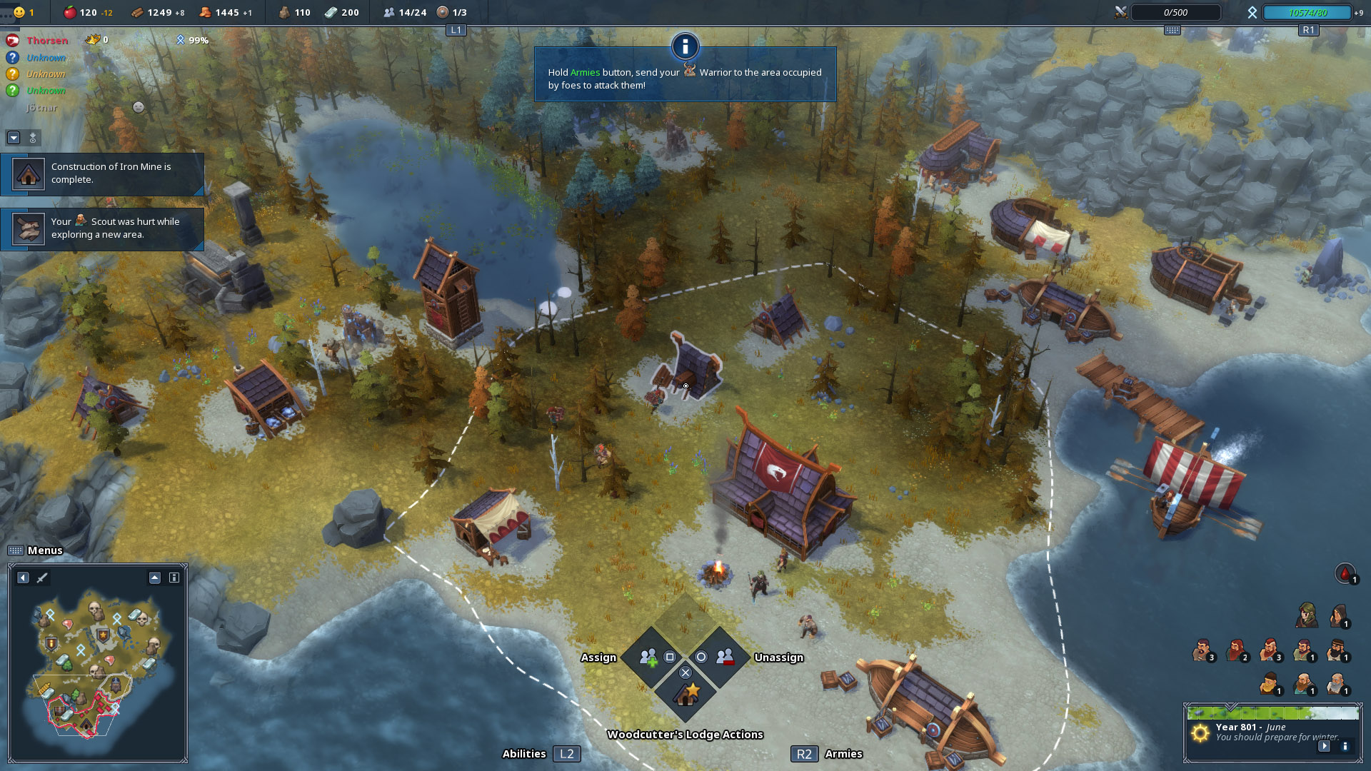 Скриншот №1 к Northgard