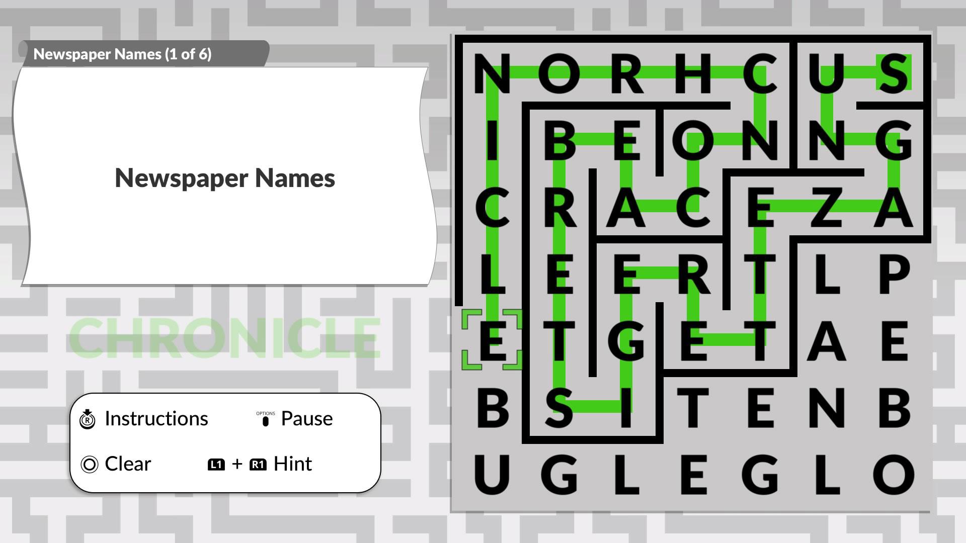 Скриншот №1 к Word Maze by POWGI