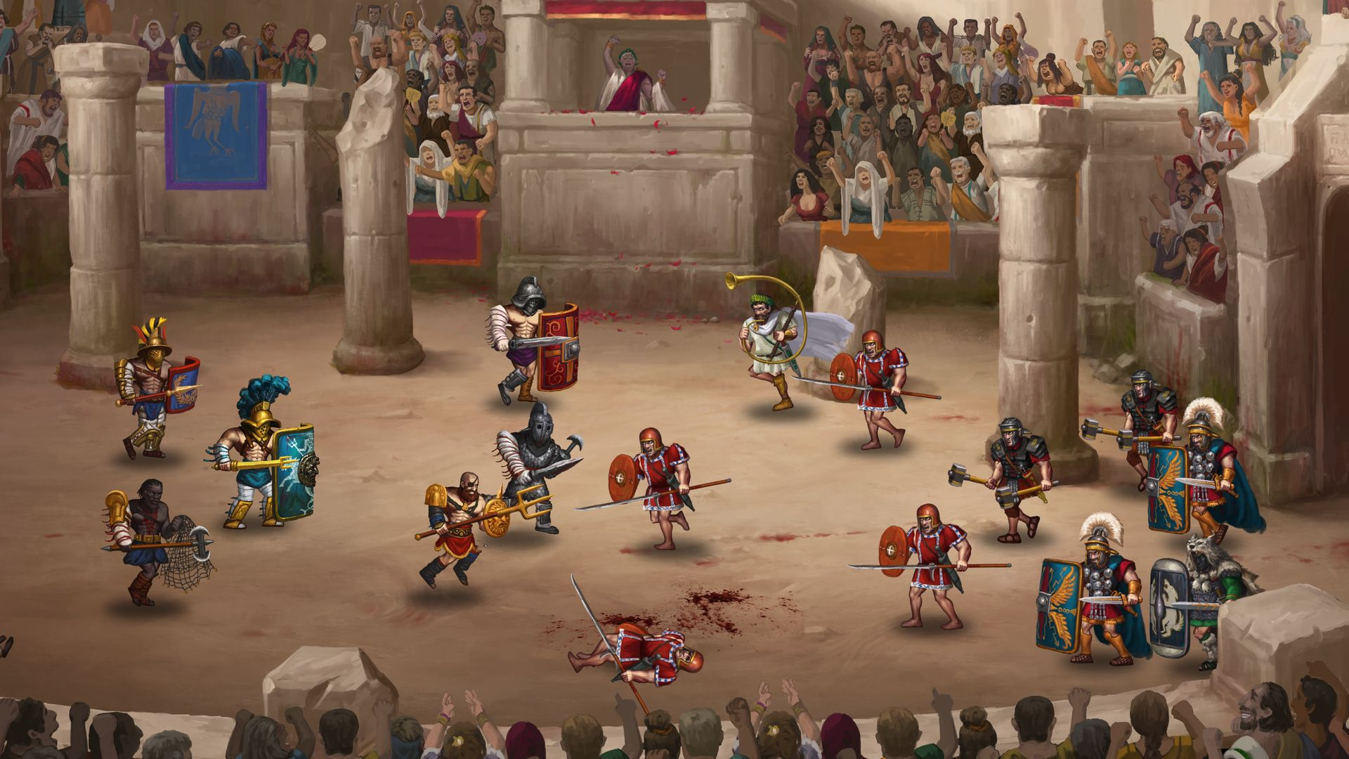 Скриншот №1 к Story of a Gladiator