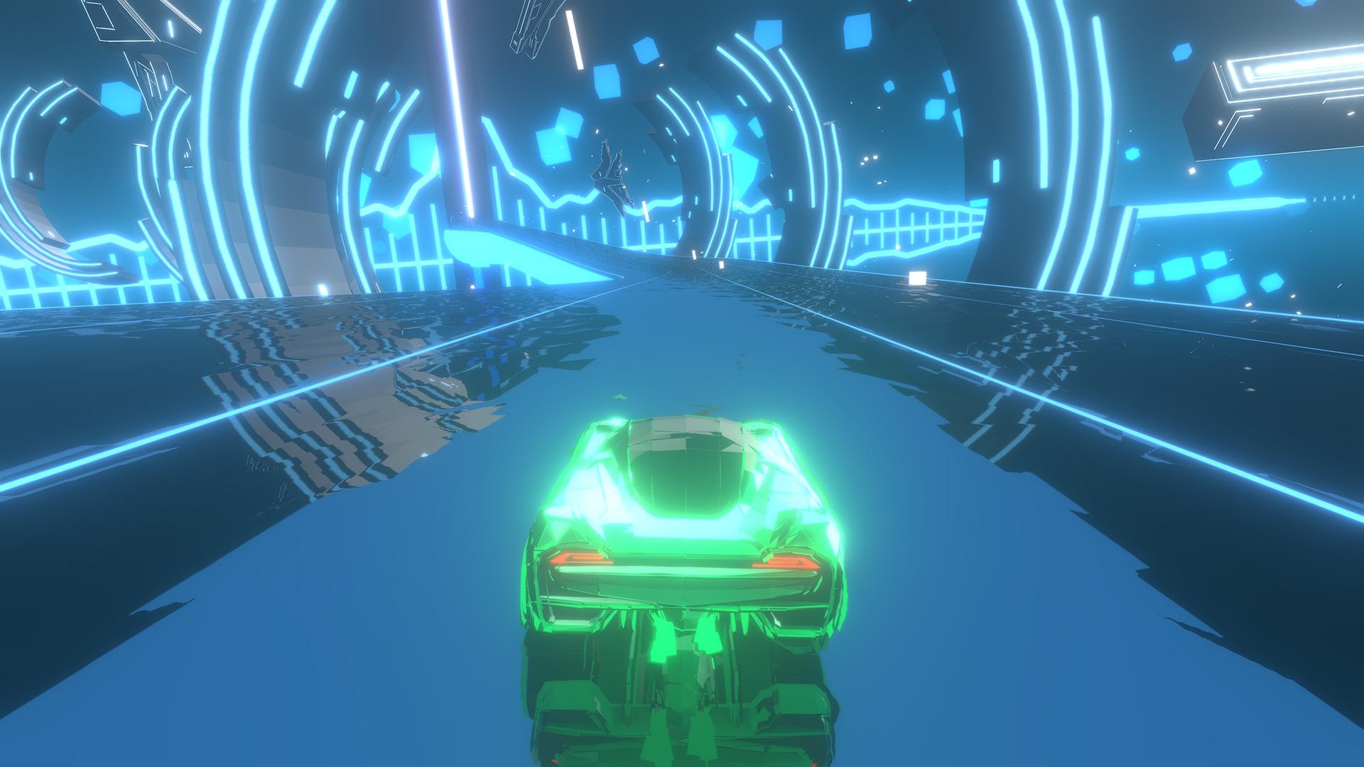 Скриншот №1 к Music Racer