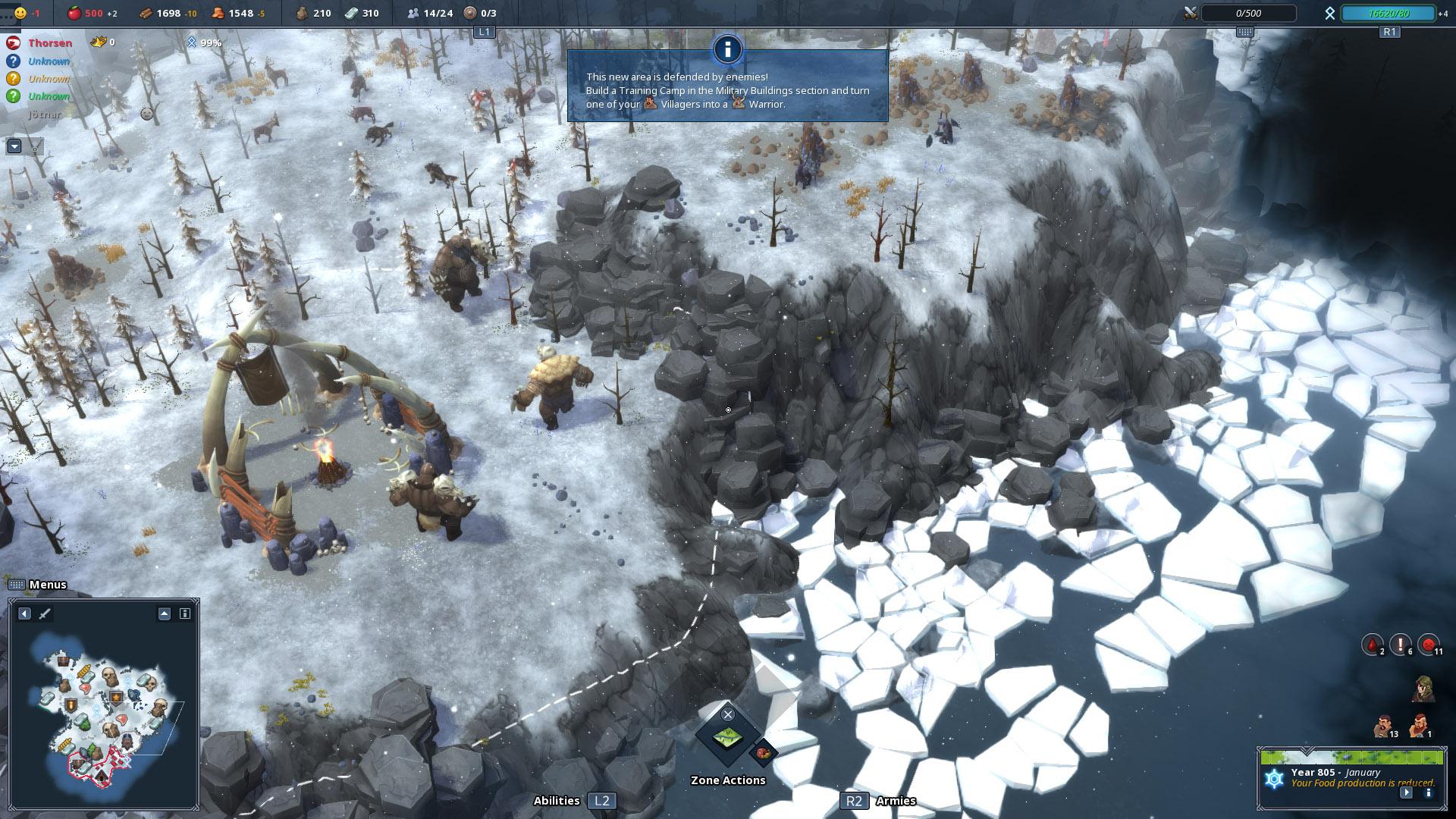 Скриншот №3 к Northgard